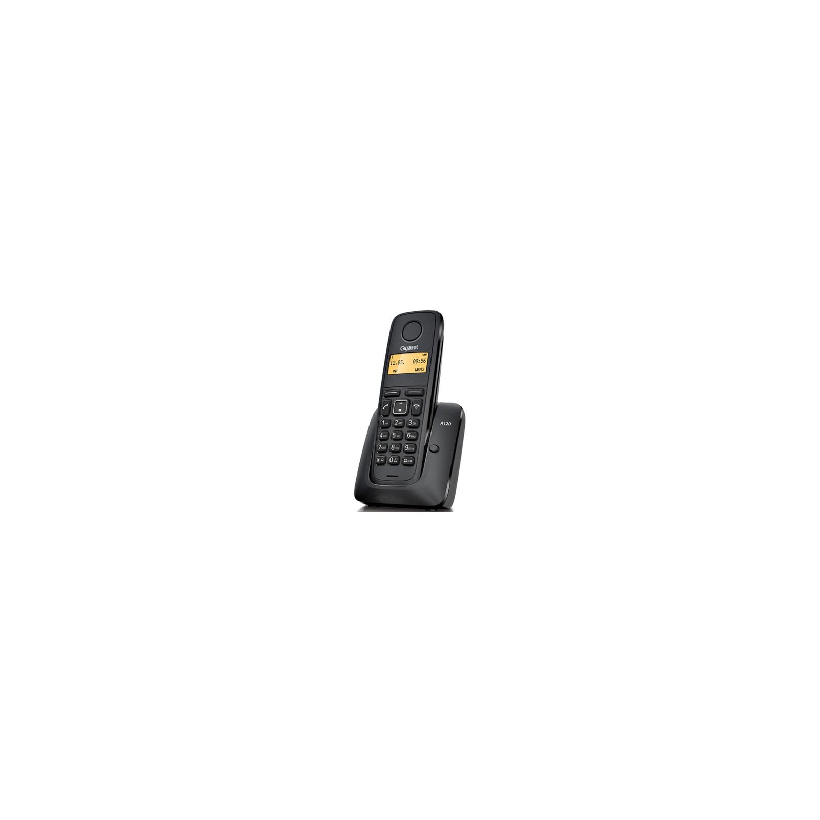 Телефон DECT Gigaset A120 Black (S30852H2401S301)