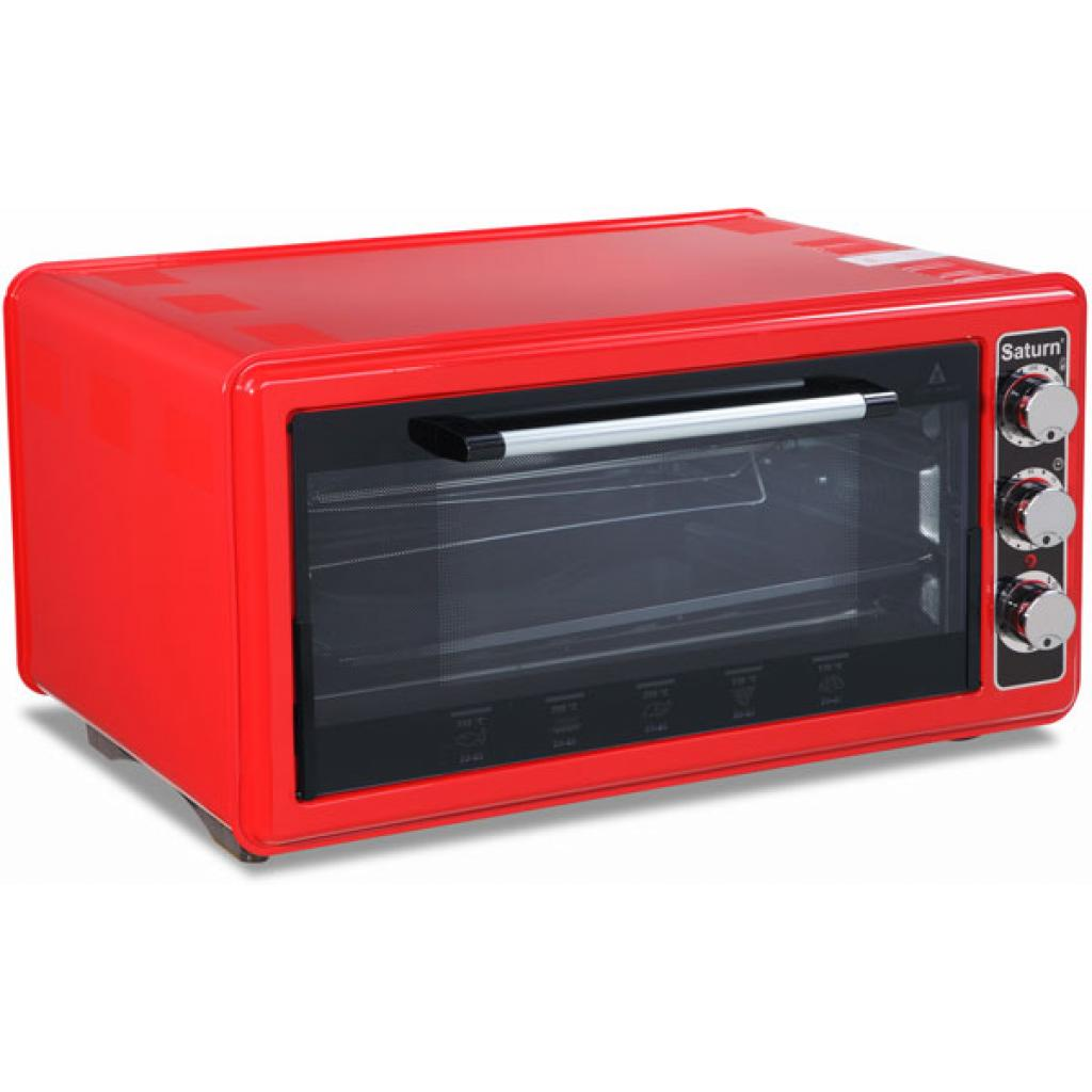 Электропечь SATURN ST-EC1070 Red