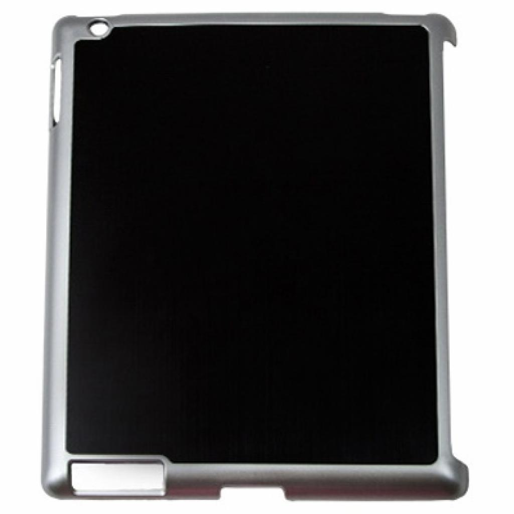 "Чехол для планшета Drobak 9.7"" Apple iPad3 Aluminium Panel Black (210222)"