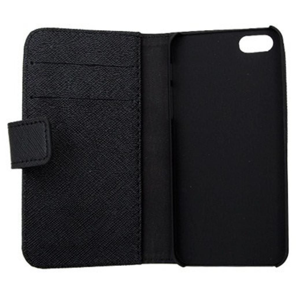 Чехол для моб. телефона Drobak для Apple Iphone 5 /Elegant Wallet Black (210236) изображение 2