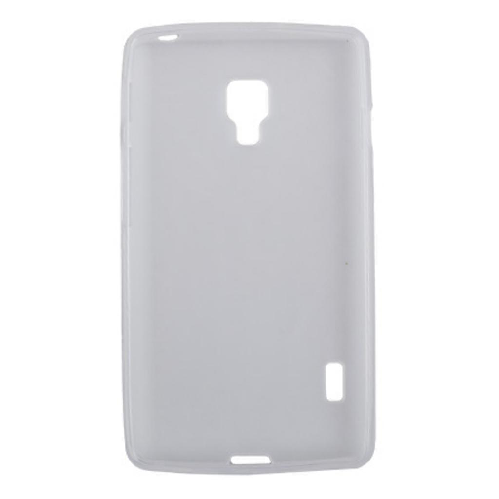 Чехол для моб. телефона Drobak для LG Optimus L7 II P713/ElasticPU/WhiteClear (211551) изображение 2