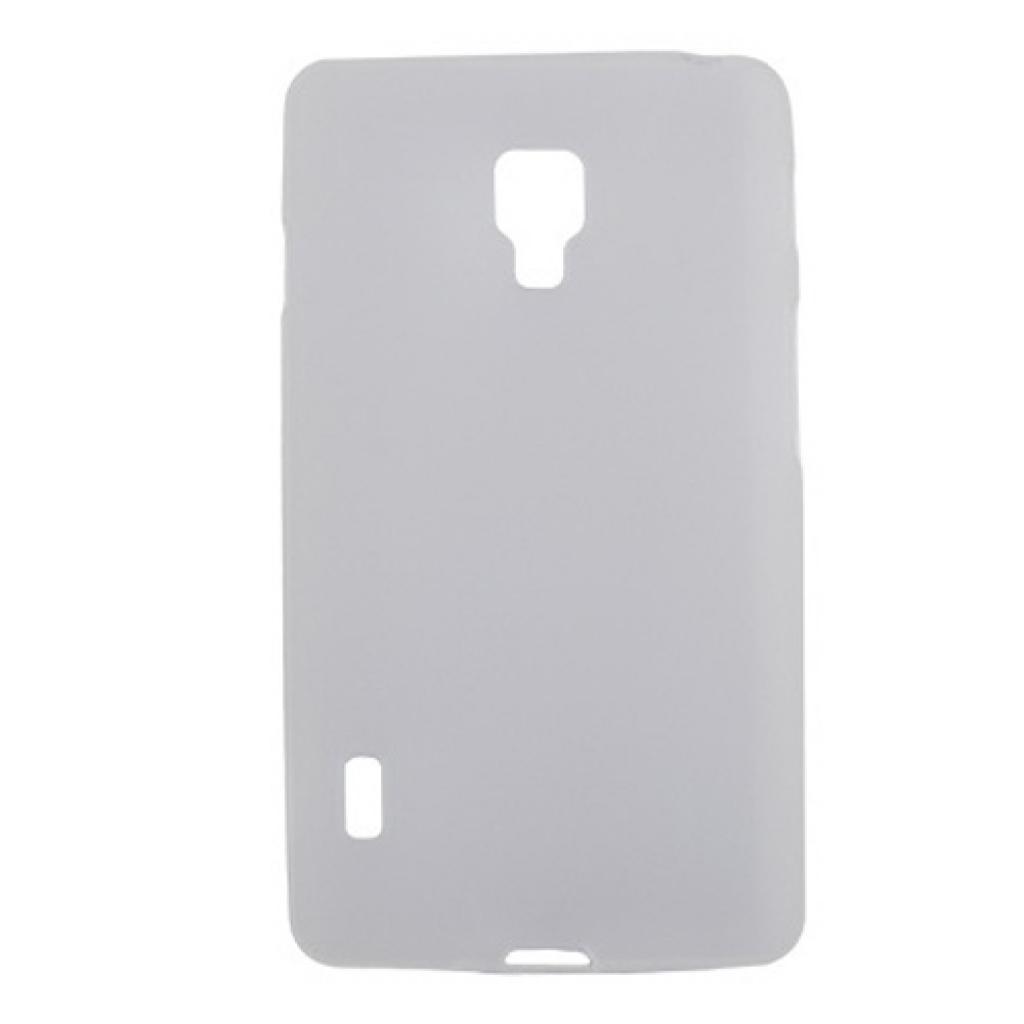Чехол для моб. телефона Drobak для LG Optimus L7 II P713/ElasticPU/WhiteClear (211551)