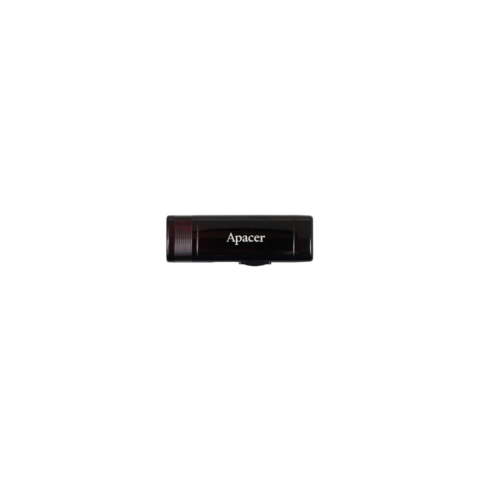 USB флеш накопитель 16GB AH351 Red RP USB3.0 Apacer (AP16GAH351R-1)