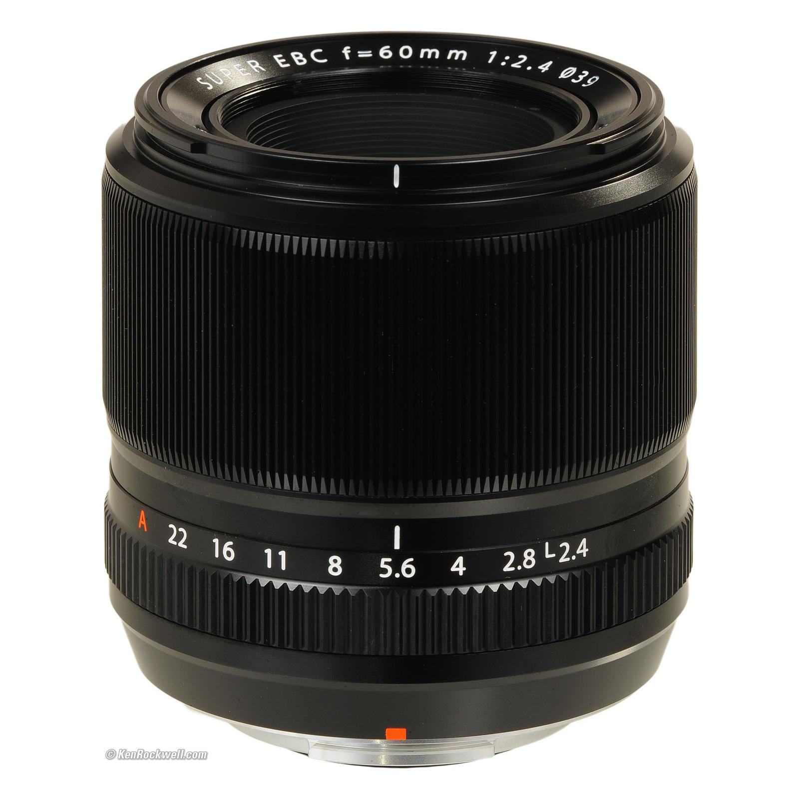 Объектив Fujifilm XF-60mm F2.4 R Macro (16240767) изображение 2