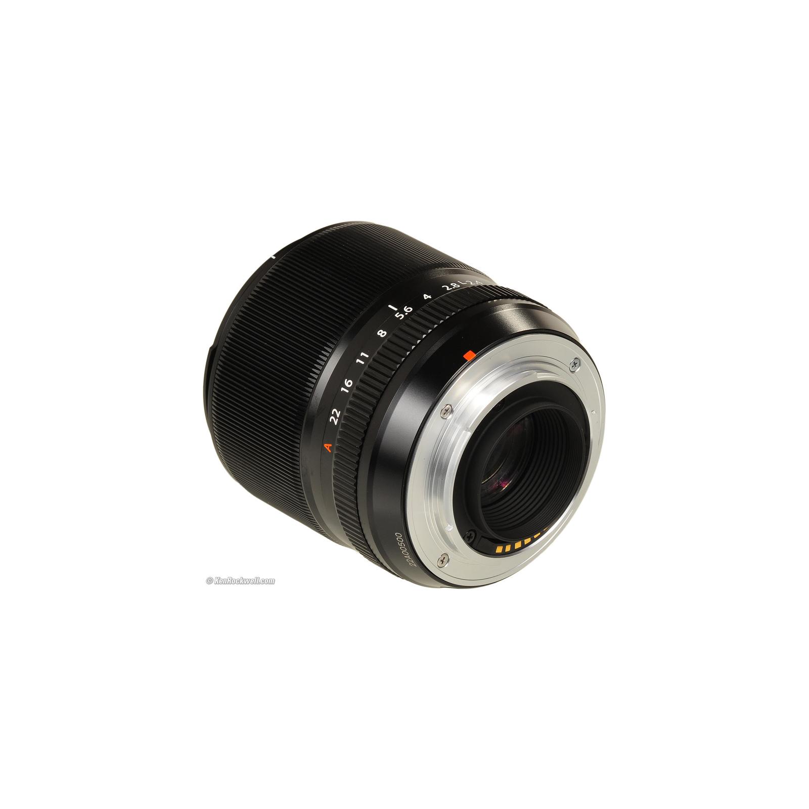 Объектив Fujifilm XF-60mm F2.4 R Macro (16240767) изображение 4