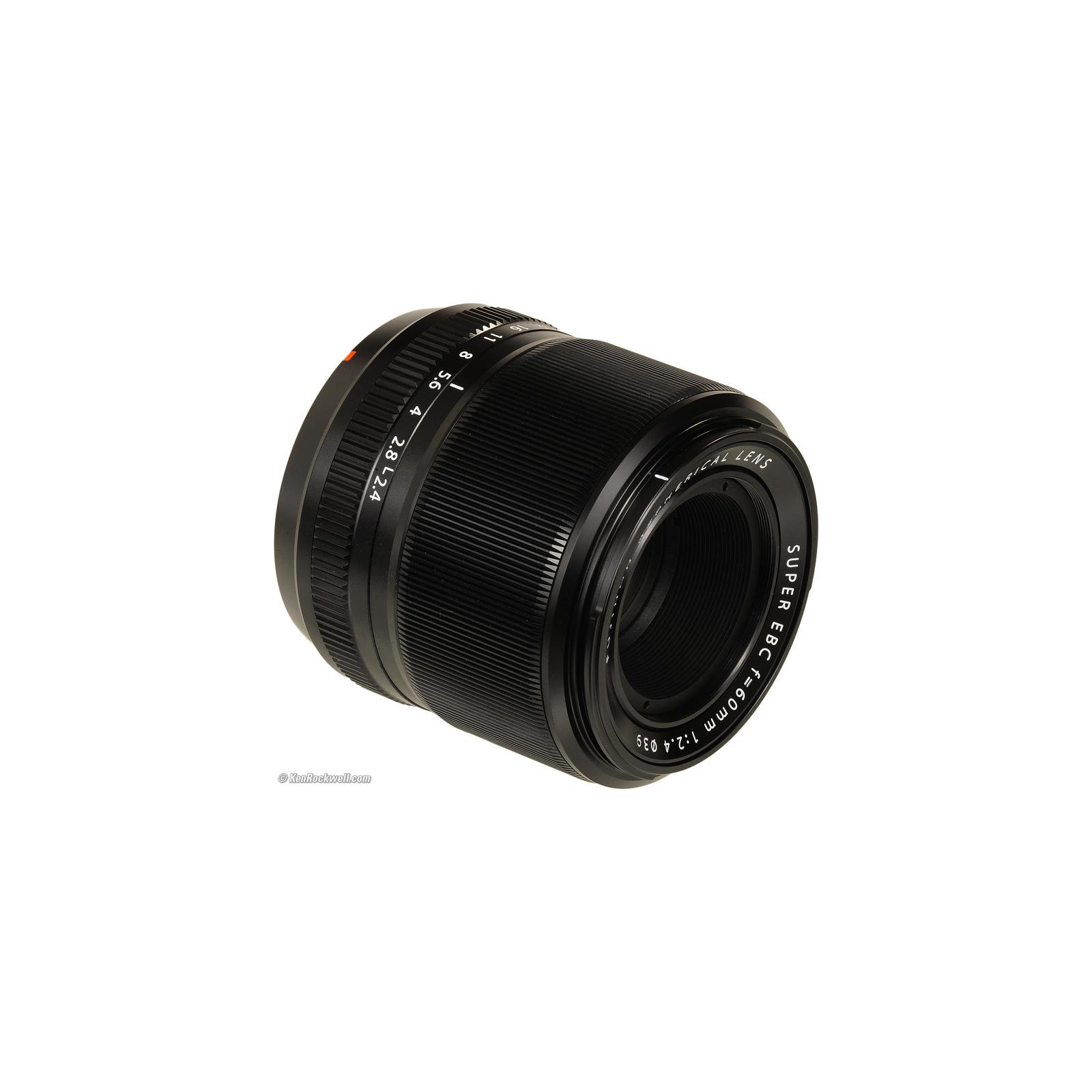 Объектив Fujifilm XF-60mm F2.4 R Macro (16240767) изображение 5