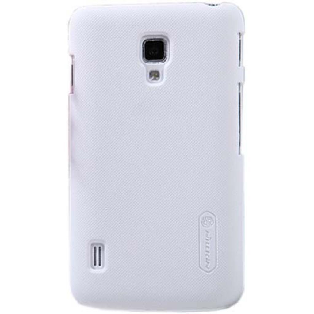 Чехол для моб. телефона NILLKIN для LG P715 L7II Duos /Super Frosted Shield/White (6065759)