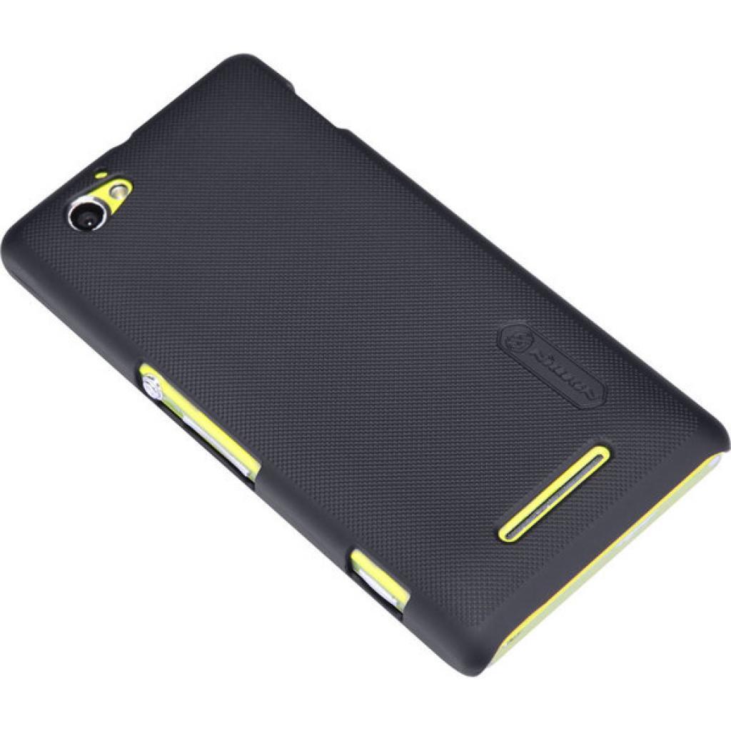 Чехол для моб. телефона NILLKIN для Sony Xperia M /Super Frosted Shield/Black (6088771) изображение 2