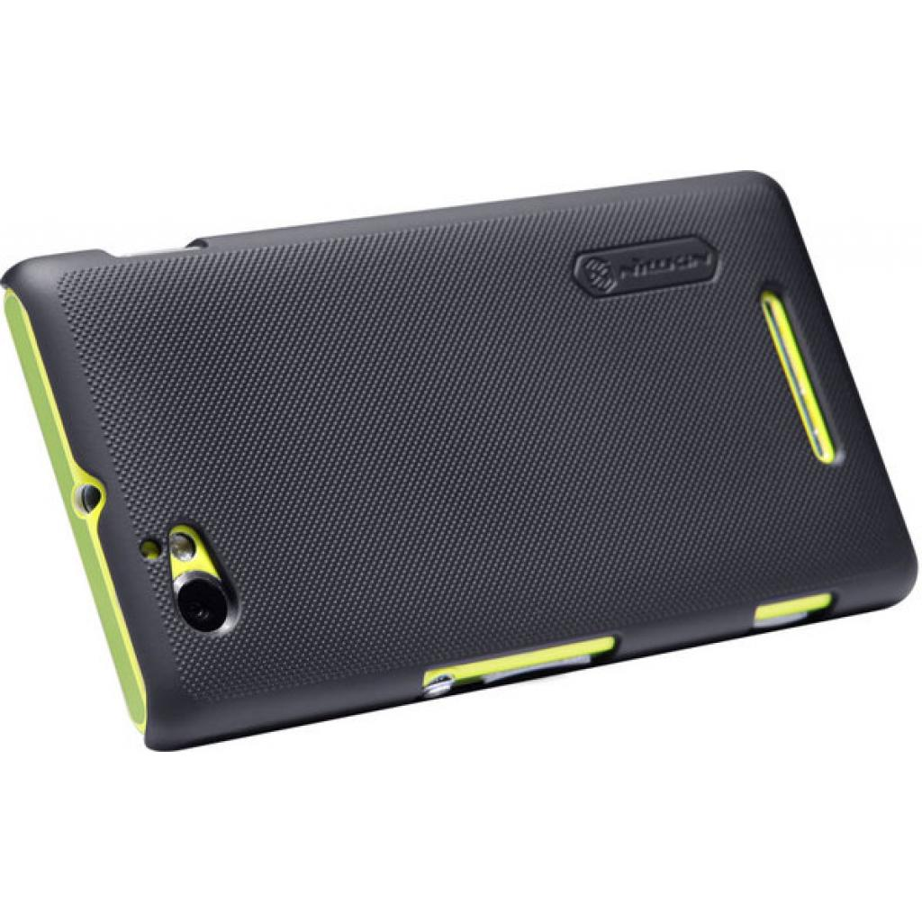 Чехол для моб. телефона NILLKIN для Sony Xperia M /Super Frosted Shield/Black (6088771) изображение 3
