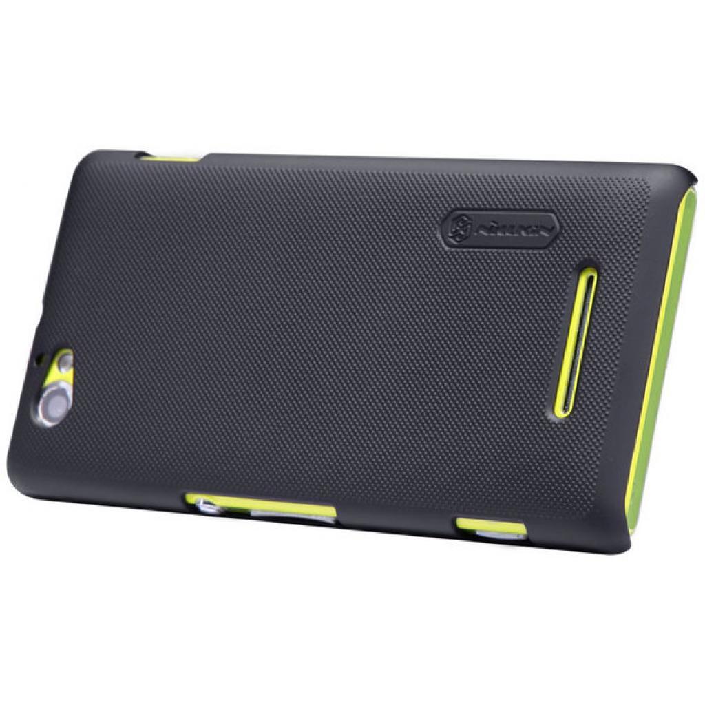 Чехол для моб. телефона NILLKIN для Sony Xperia M /Super Frosted Shield/Black (6088771) изображение 4