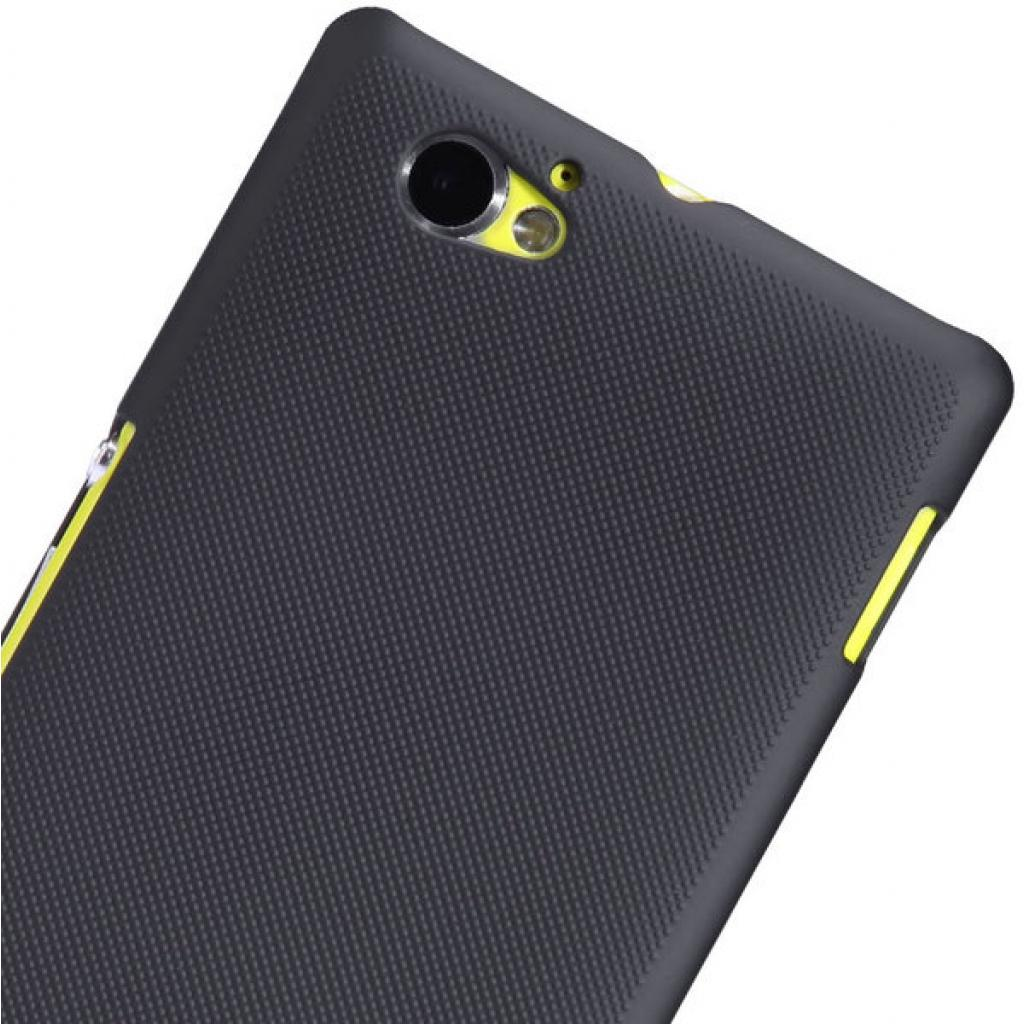 Чехол для моб. телефона NILLKIN для Sony Xperia M /Super Frosted Shield/Black (6088771) изображение 5
