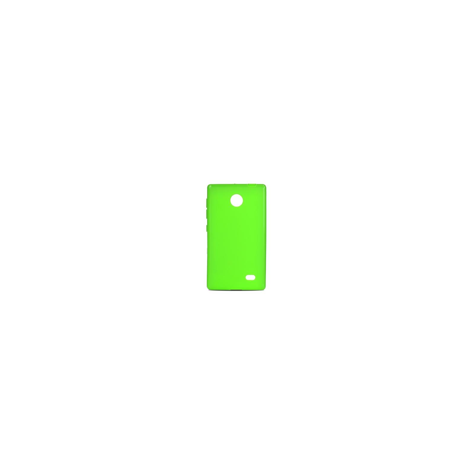 Чехол для моб. телефона Drobak для Nokia X/Elastic PU/Green (215117)