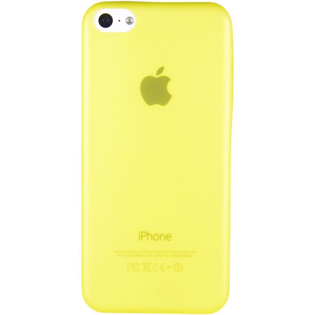 Чехол для моб. телефона Pro-case iPhone 5C ultra thin yellow (PCUT5CYW)