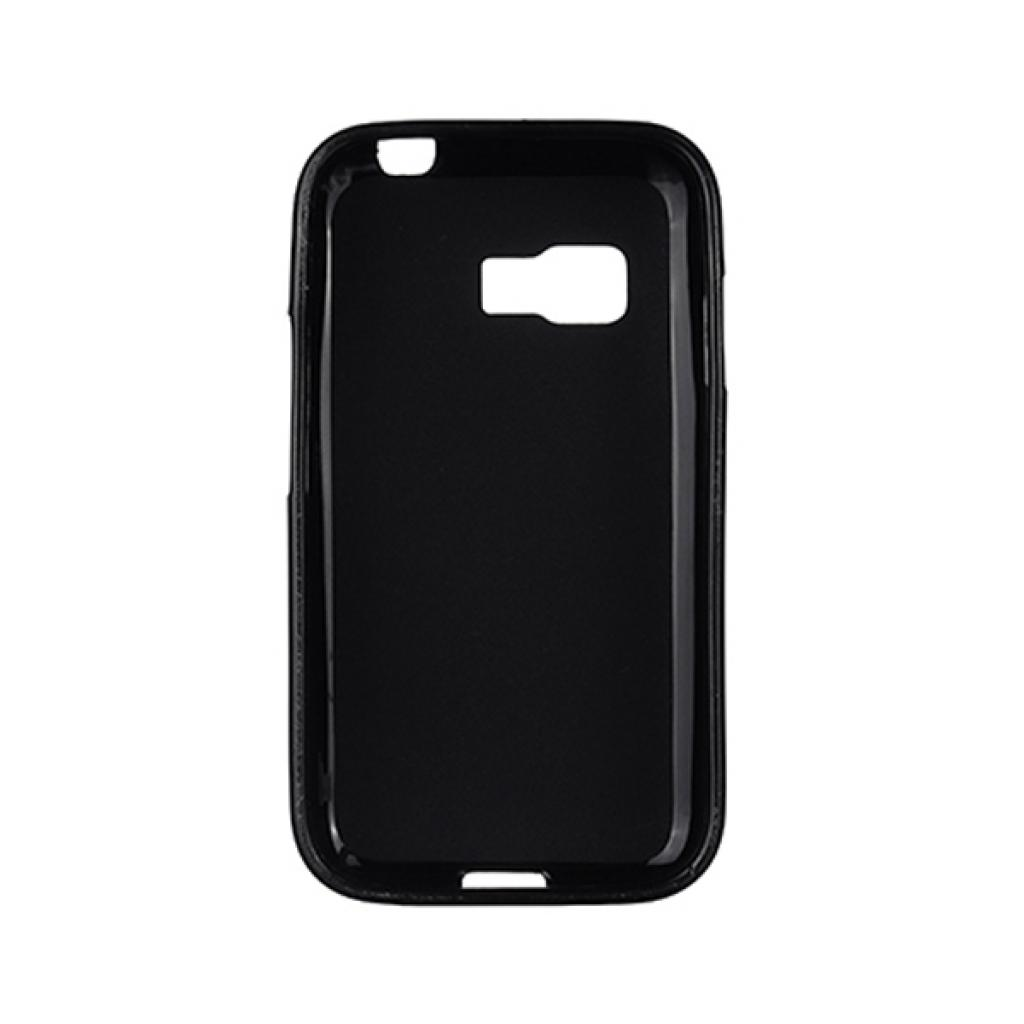 Чехол для моб. телефона Drobak для Samsung Galaxy Star 2 Duos G130E Black /Elastic PU/ (218 (218653) изображение 2