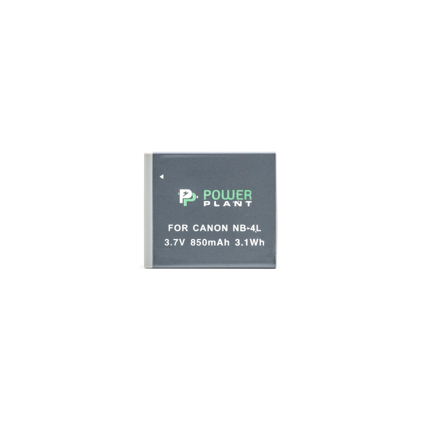 Аккумулятор к фото/видео PowerPlant Canon NB-4L (DV00DV1006) изображение 2