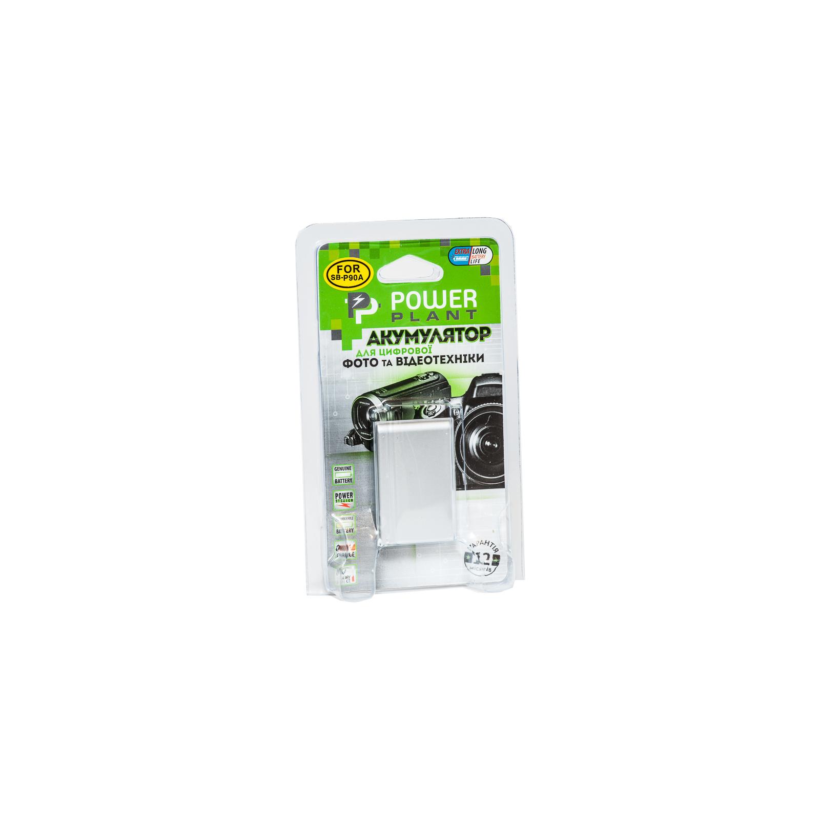 Аккумулятор к фото/видео PowerPlant Samsung SB-P90A (DV00DV1363) изображение 3