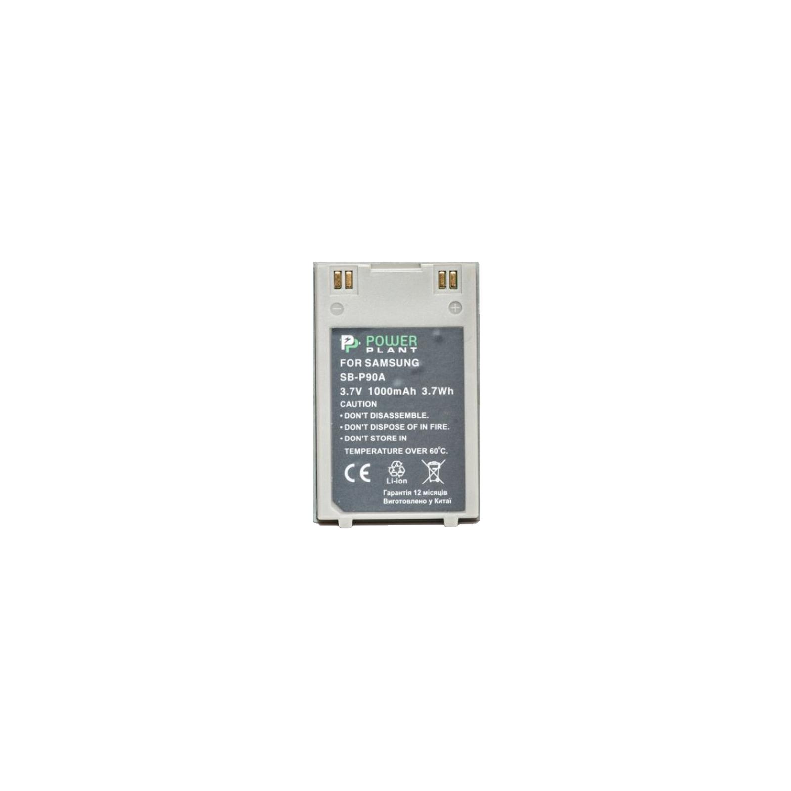 Аккумулятор к фото/видео PowerPlant Samsung SB-P90A (DV00DV1363)