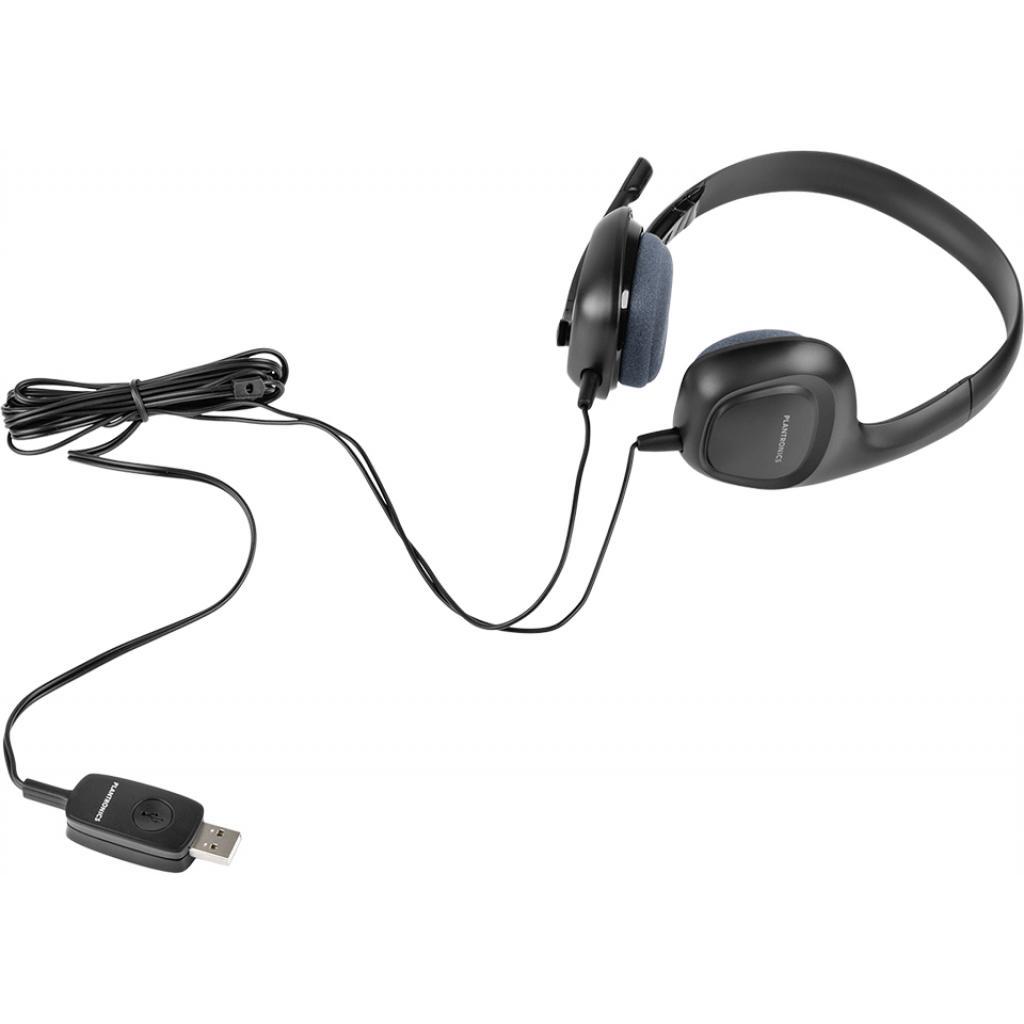Наушники Plantronics Audio 622 USB (87329-05) изображение 5