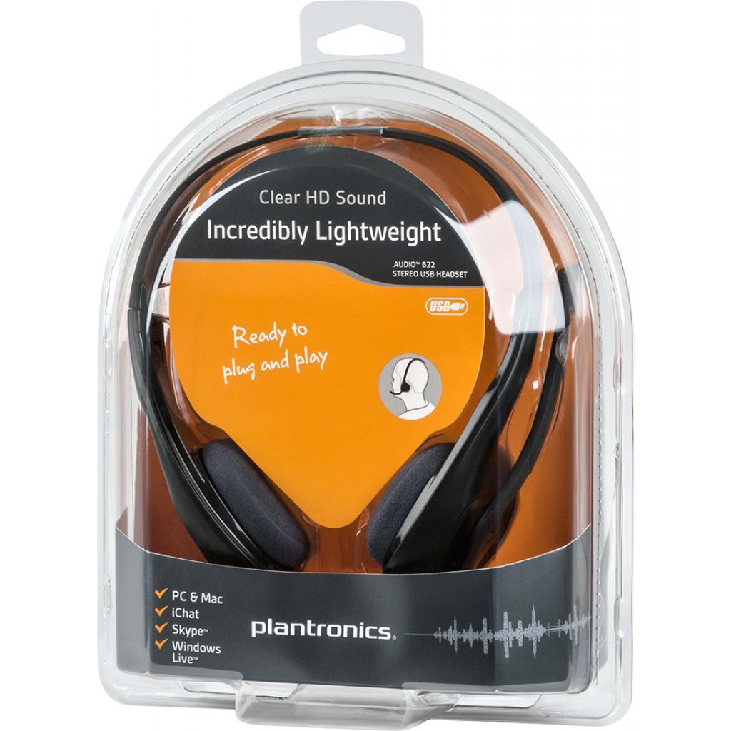 Наушники Plantronics Audio 622 USB (87329-05) изображение 7