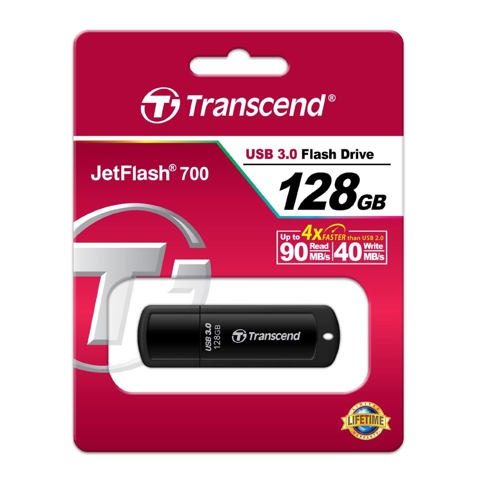 USB флеш накопитель Transcend 64Gb JetFlash 700 (TS64GJF700) изображение 4