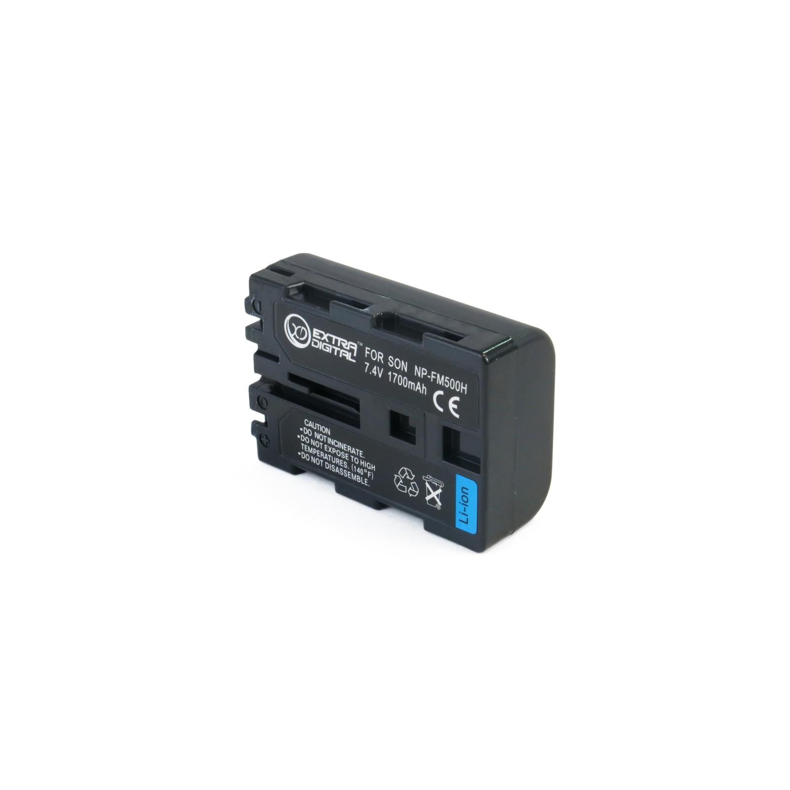 Аккумулятор к фото/видео EXTRADIGITAL Sony NP-FM500H (BDS2664) изображение 2
