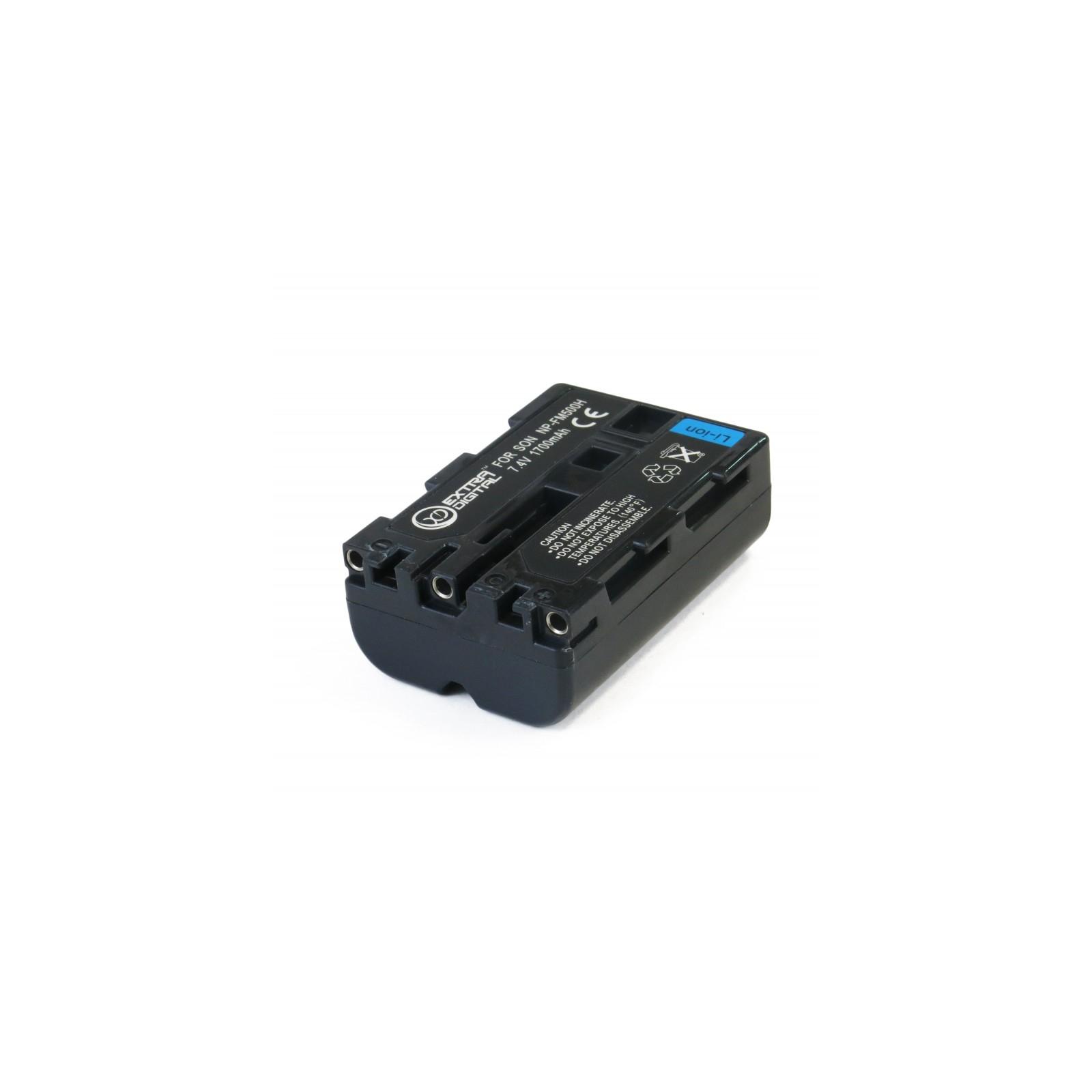 Аккумулятор к фото/видео EXTRADIGITAL Sony NP-FM500H (BDS2664) изображение 3