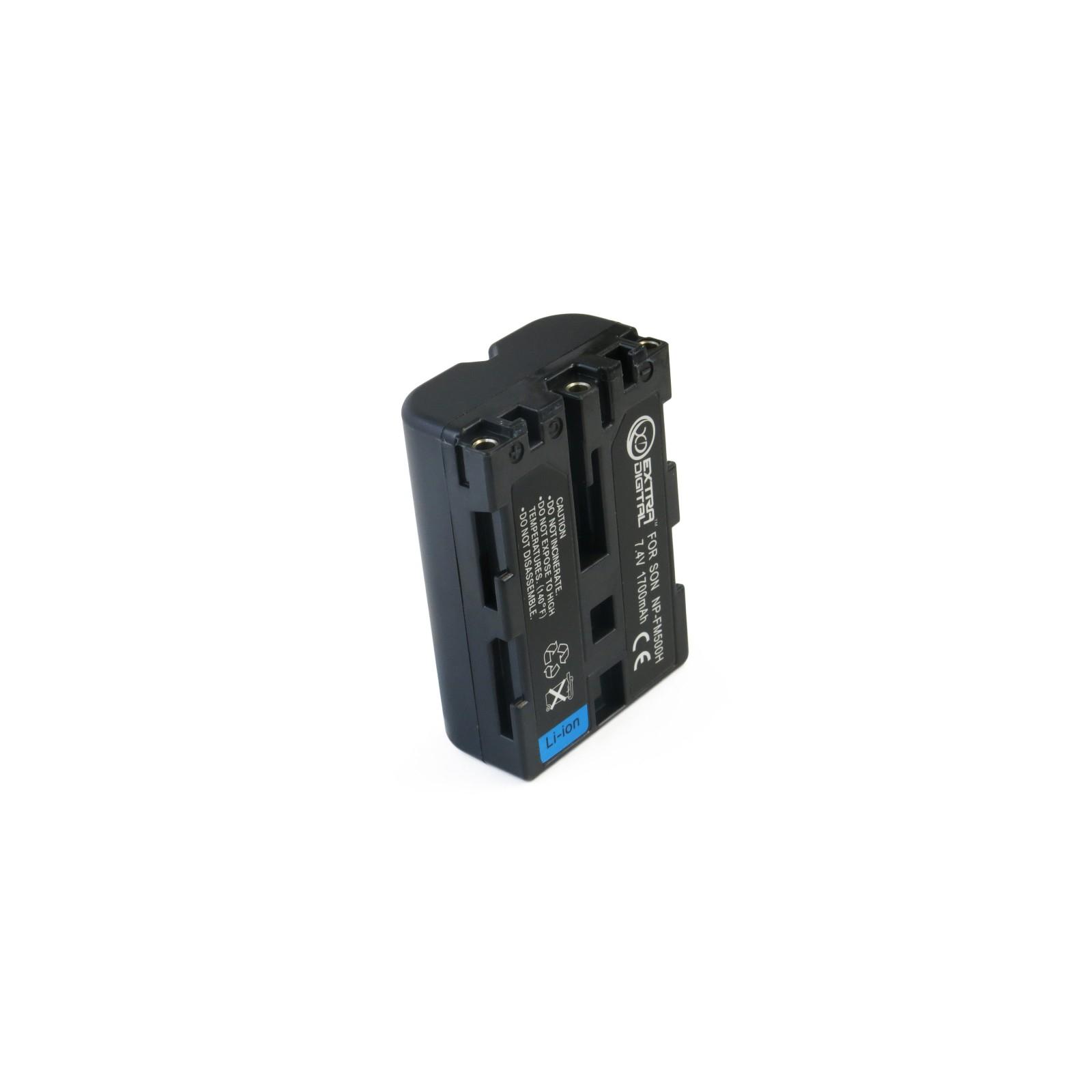 Аккумулятор к фото/видео EXTRADIGITAL Sony NP-FM500H (BDS2664) изображение 5