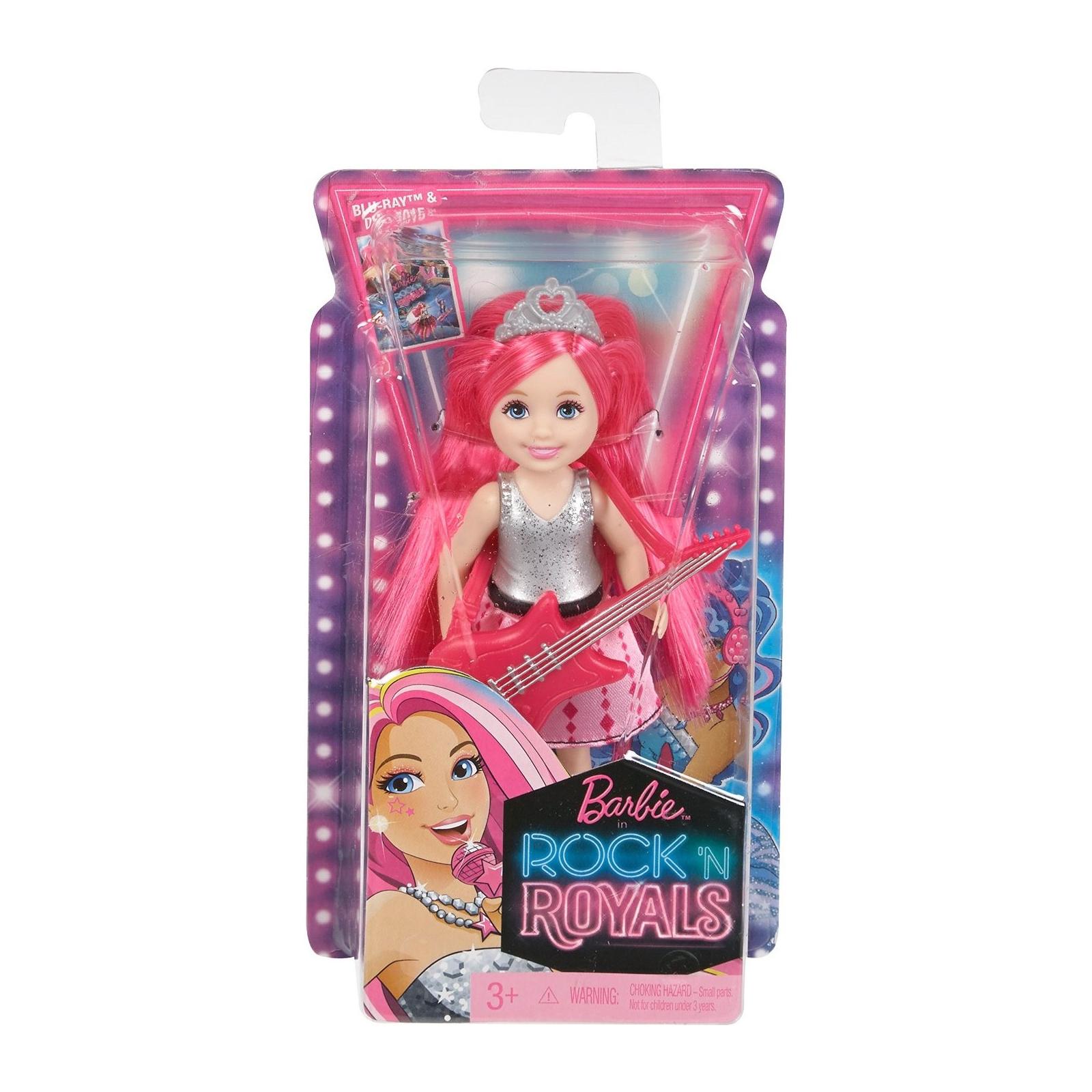 Кукла BARBIE Челси из м/ф Барби: Рок-принцесса с гитарой (CKB68-3) изображение 4