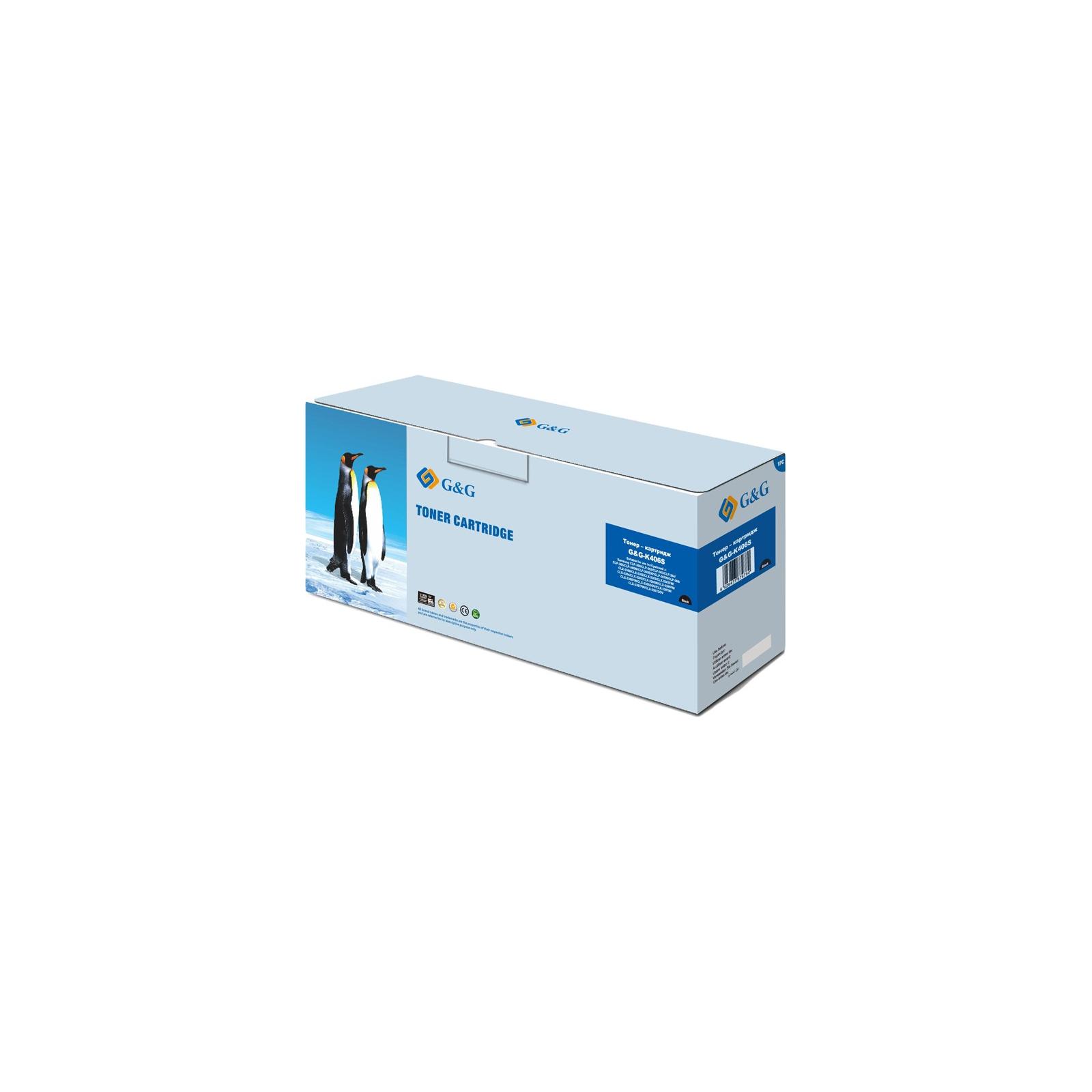 Картридж G&G для Samsung CLP-365/SL-C460W/ CLX-3305/3305FN Black (G&G-K406S)