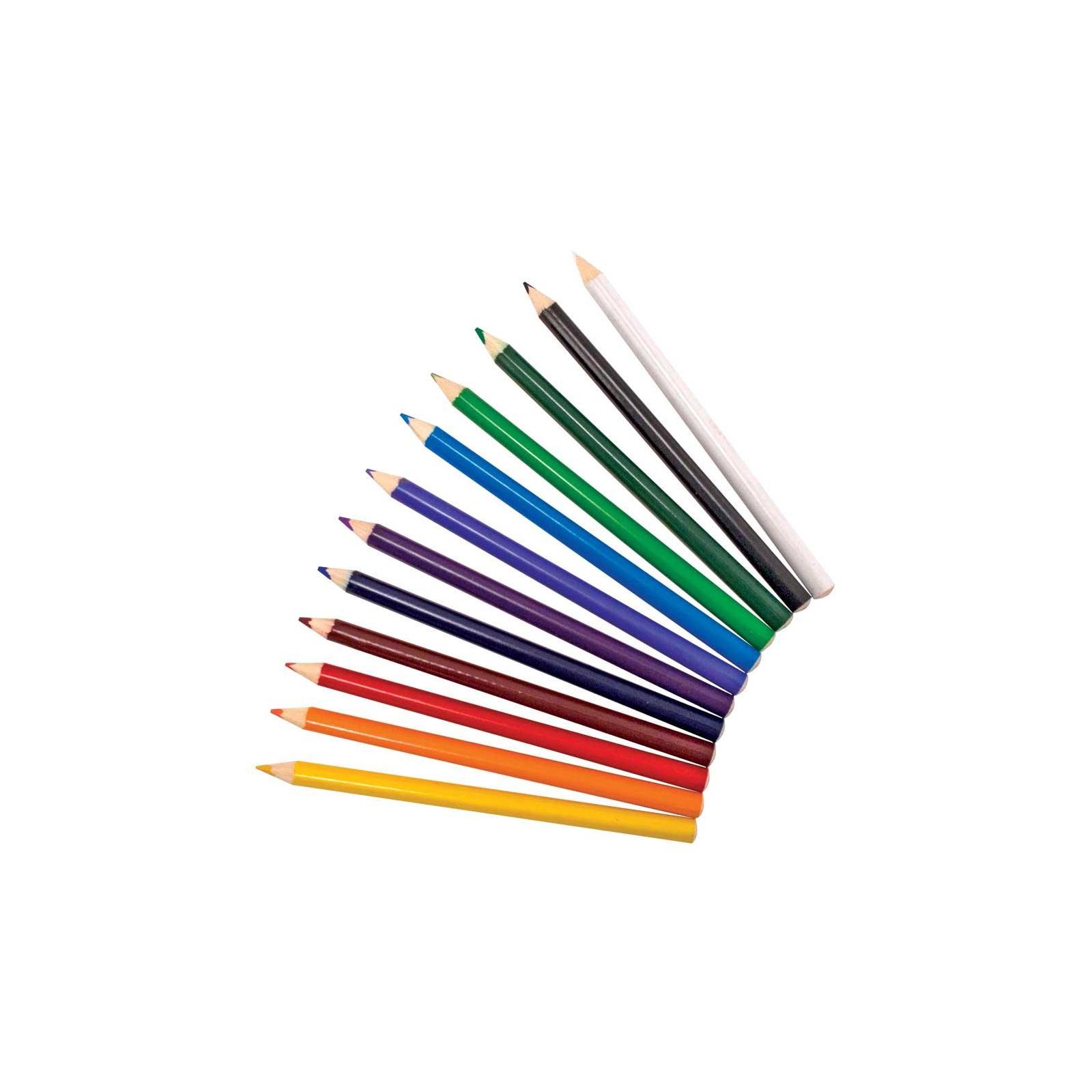 Карандаши цветные Melissa&Doug Цветные карандаши 12 цветов (MD4119) изображение 2