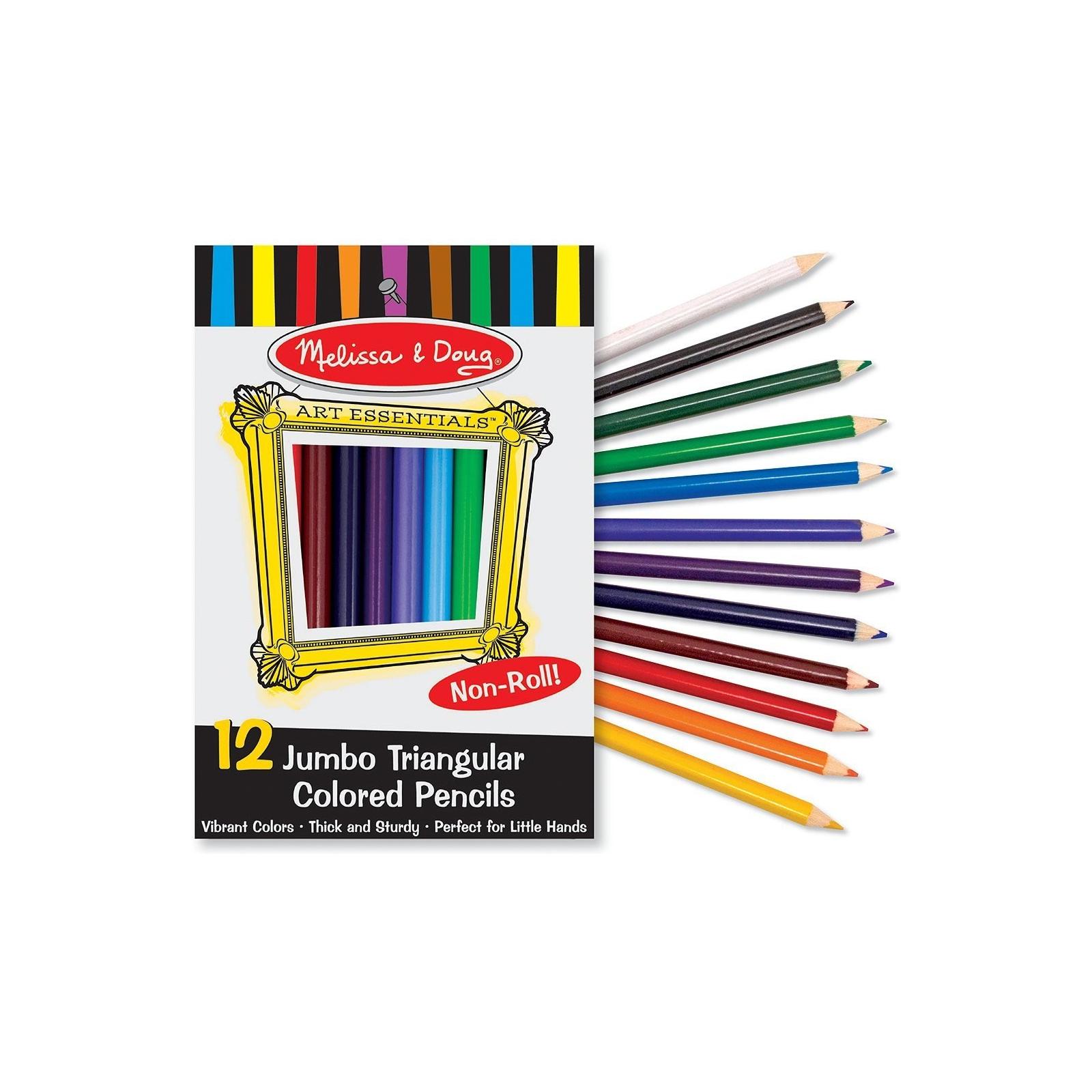 Карандаши цветные Melissa&Doug Цветные карандаши 12 цветов (MD4119) изображение 3