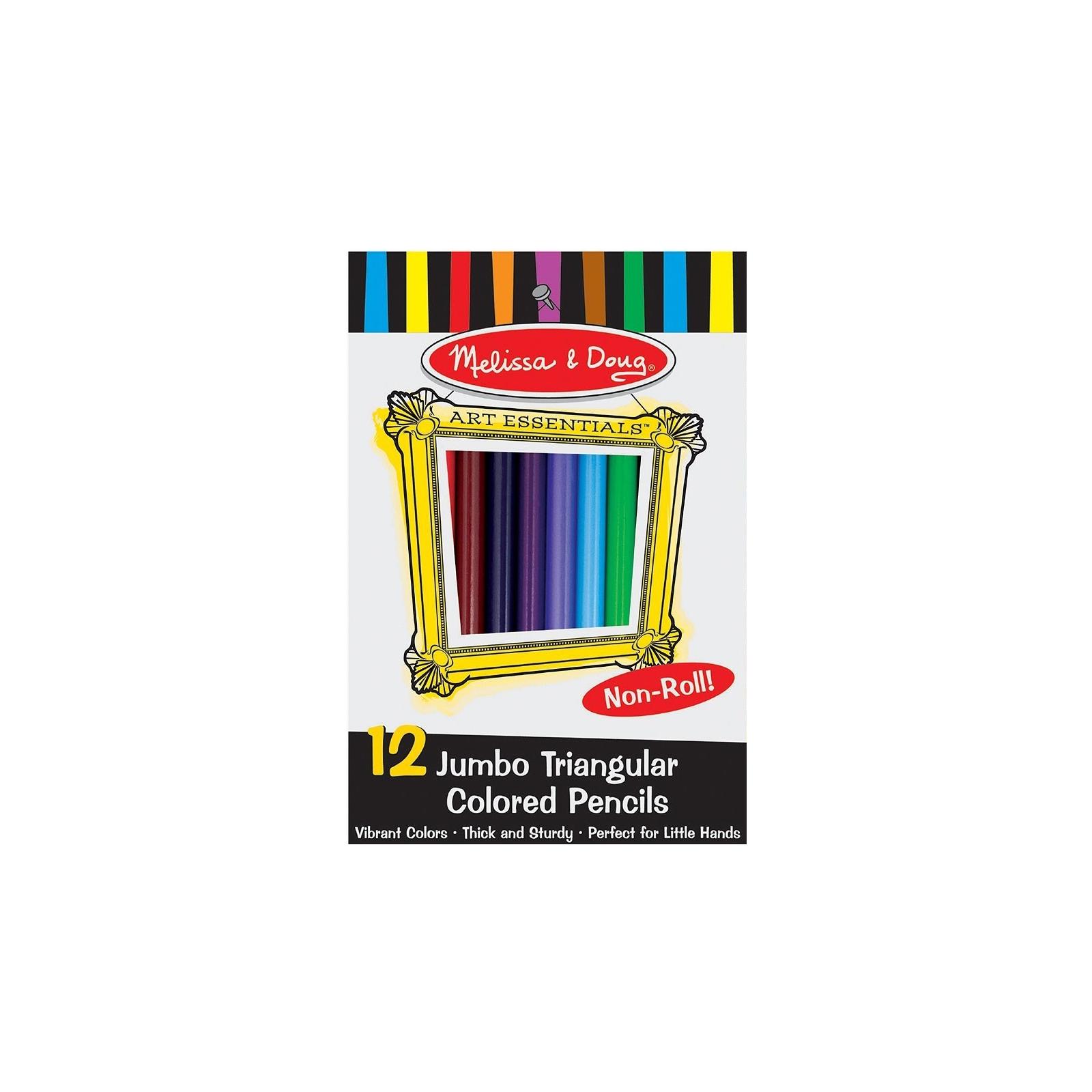 Карандаши цветные Melissa&Doug Цветные карандаши 12 цветов (MD4119)