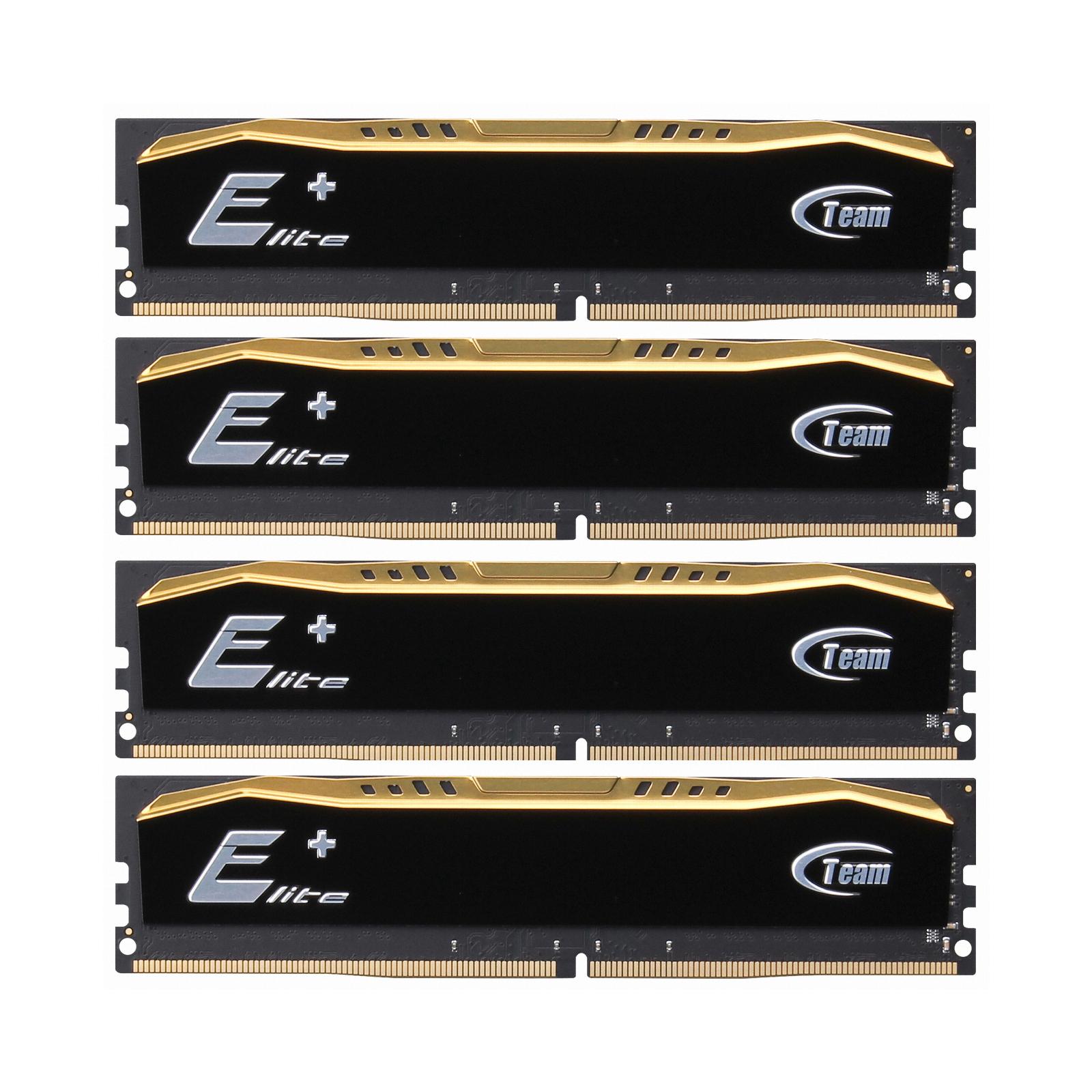 Модуль памяти для компьютера DDR4 32GB (4x8GB) 2400 MHz Elite Team (TED432G2400C16QC01)