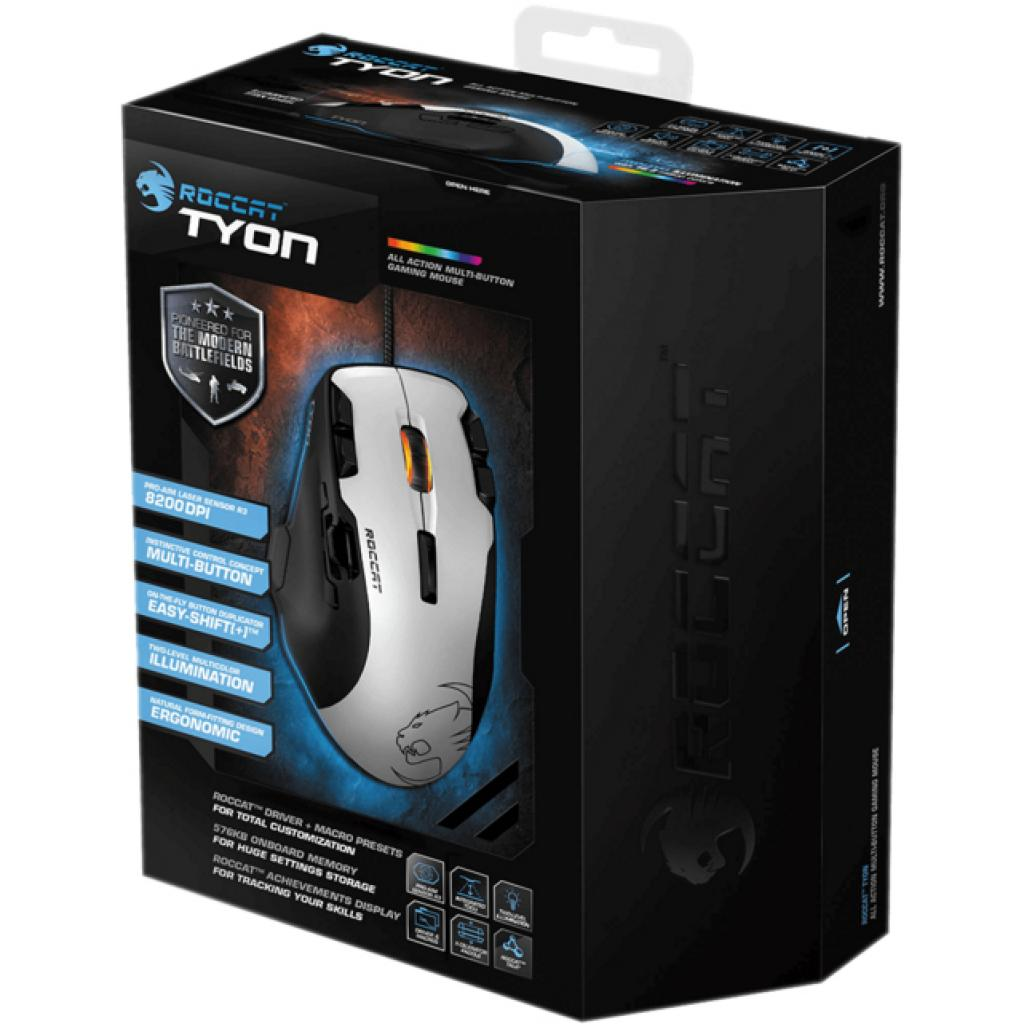 Мышка Roccat Tyon - All Action Multi-Button Gaming Mouse, White (ROC-11-851) изображение 10
