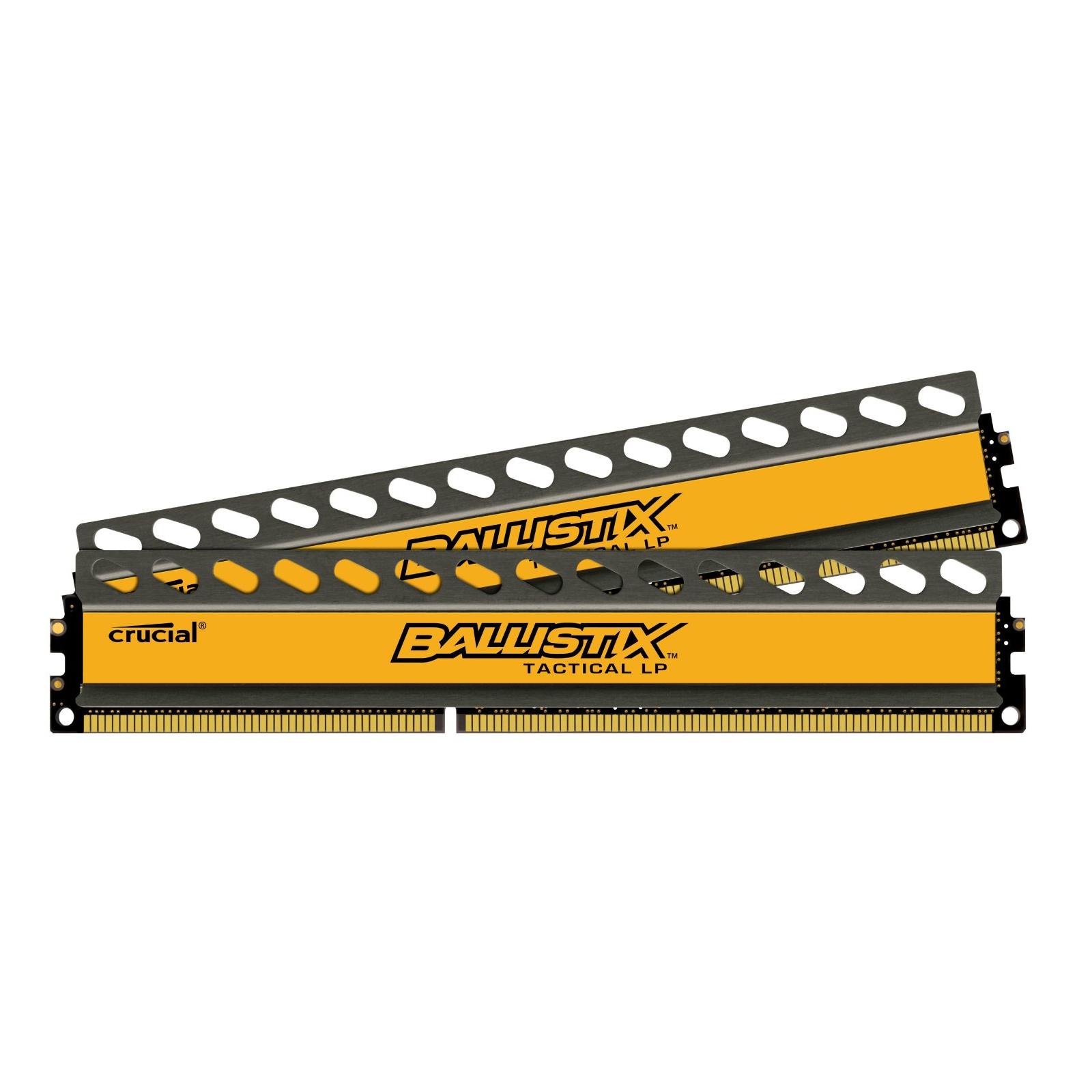 Модуль памяти для компьютера DDR3 16GB (2x8GB) 1600 MHz BallistiX Tactical MICRON (BLT2C8G3D1608ET3LX0CEU) изображение 2