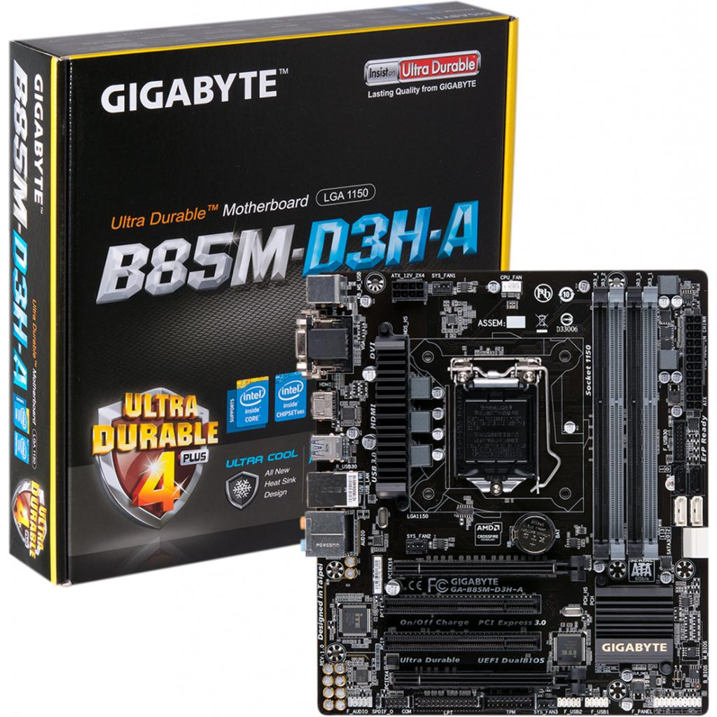Материнская плата GIGABYTE GA-B85M-D3H-A