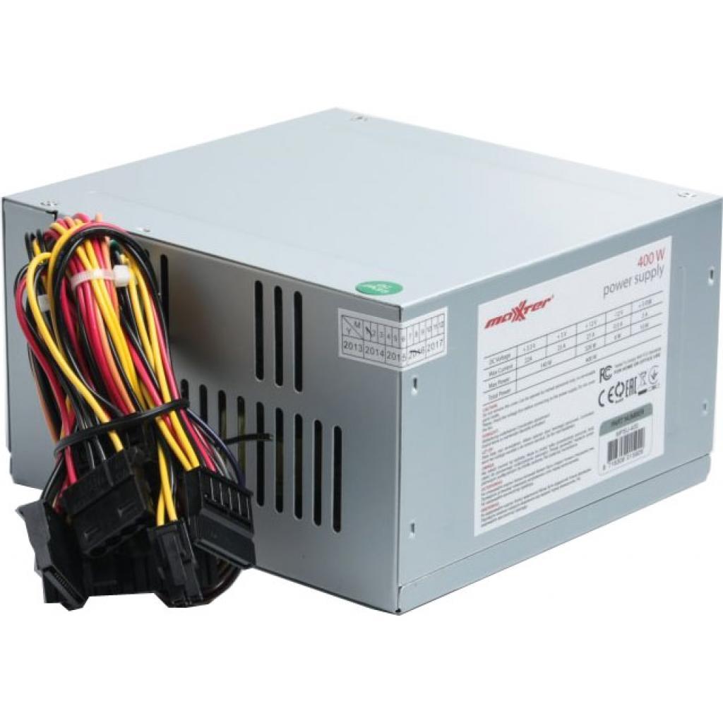 Блок питания Maxxter 400W (MPSU-400) изображение 2