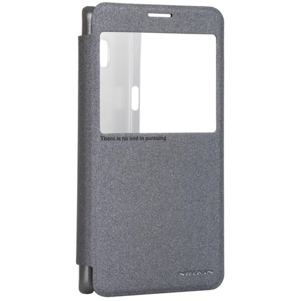 Чехол для моб. телефона NILLKIN для Samsung N920/Note 5 Grey (6248034) (6248034)