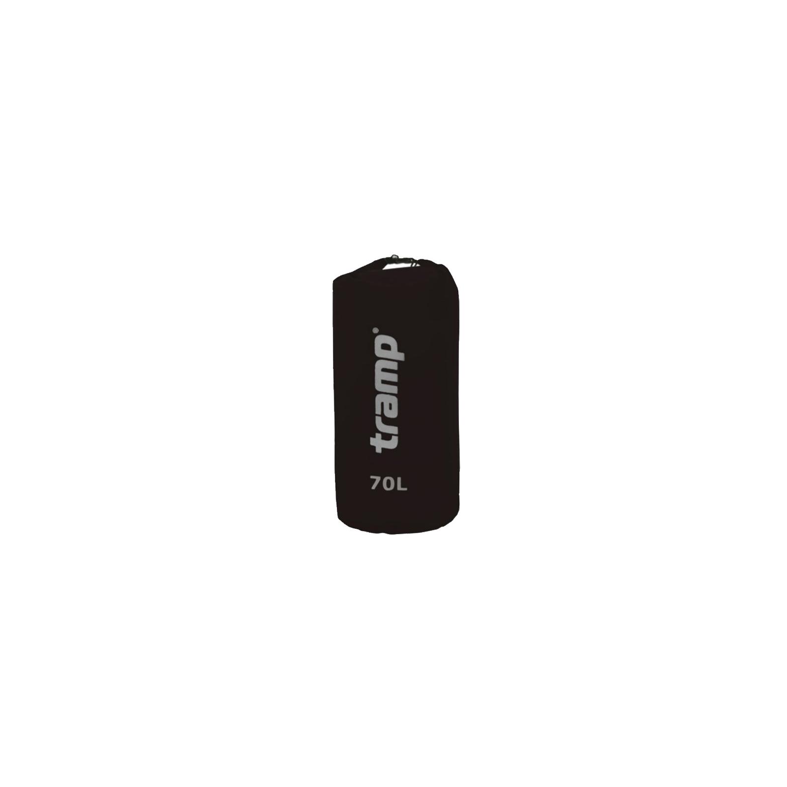 Гермомешок Tramp Nylon PVC 70 черный (TRA-104 black)