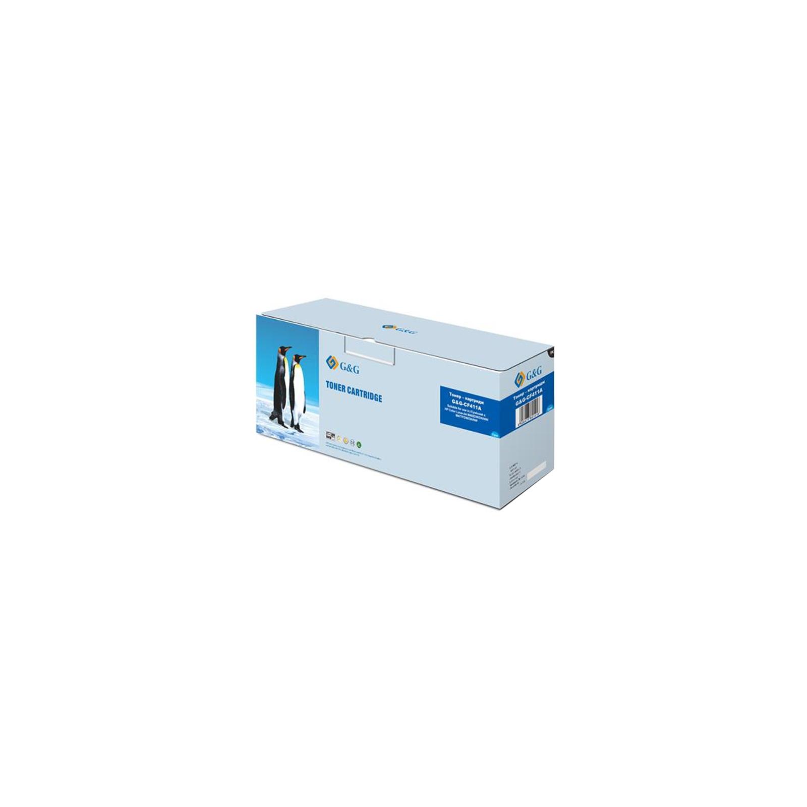 Картридж G&G для HP Color LJ M452dn/M452nw/M477fdn Cyan (G&G-CF411A)