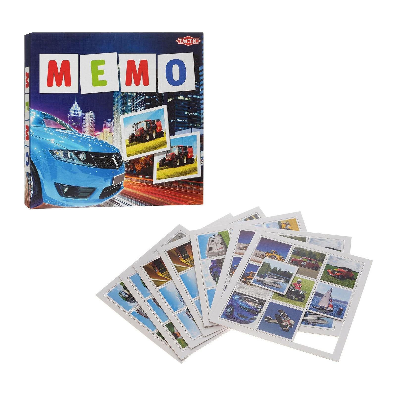 Настольная игра Tactic Мемо Транспорт (41442) изображение 2