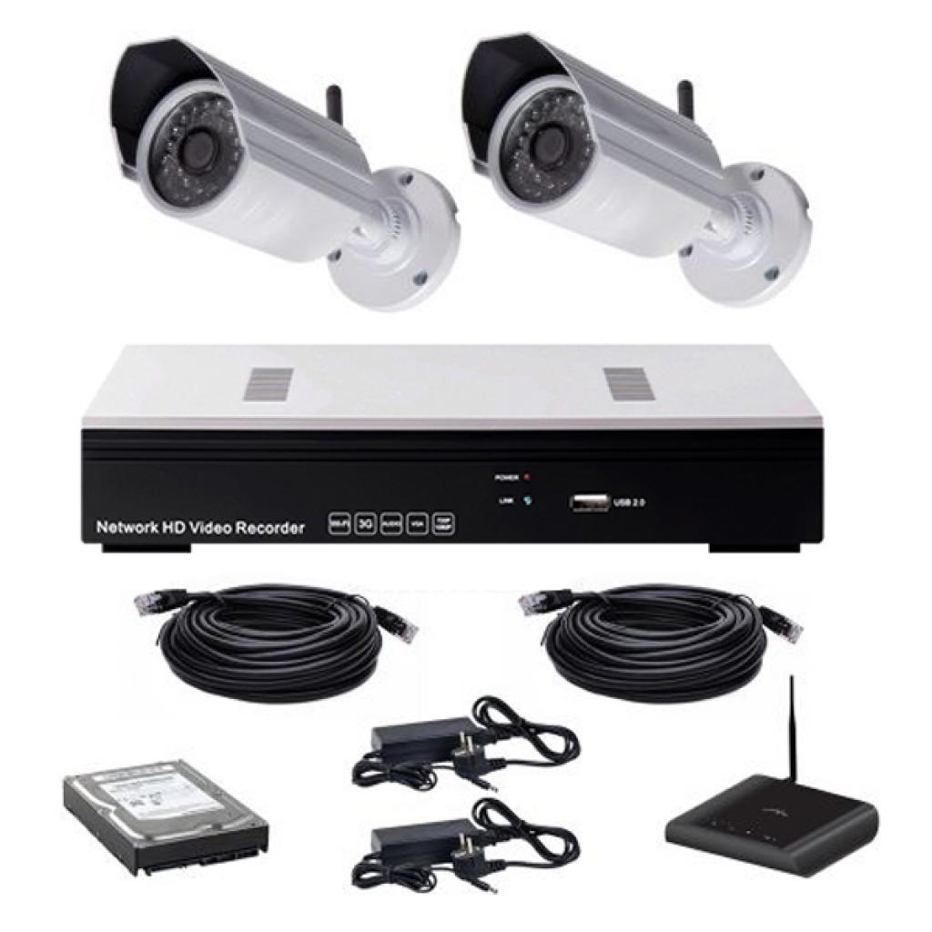 Комплект видеонаблюдения CoVi NVK-2003 WI-FI IP KIT