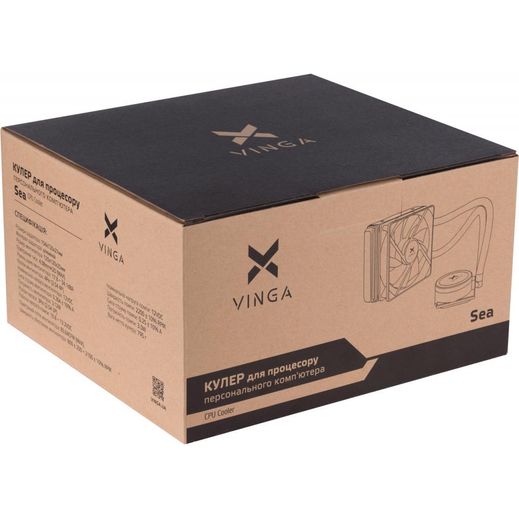 Кулер для процессора Vinga Sea изображение 10