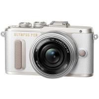 Цифровой фотоаппарат OLYMPUS E-PL8 14-42 mm Pancake Zoom Kit white/silver (V205082WE000)