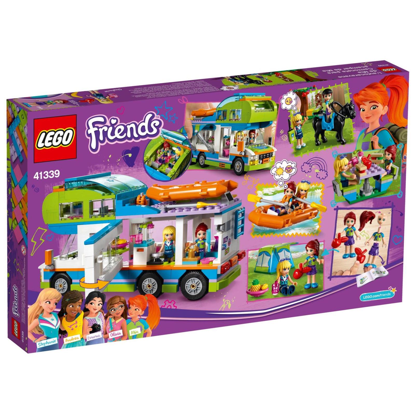 Конструктор LEGO Friends Дом на колесах Мии (41339) изображение 12