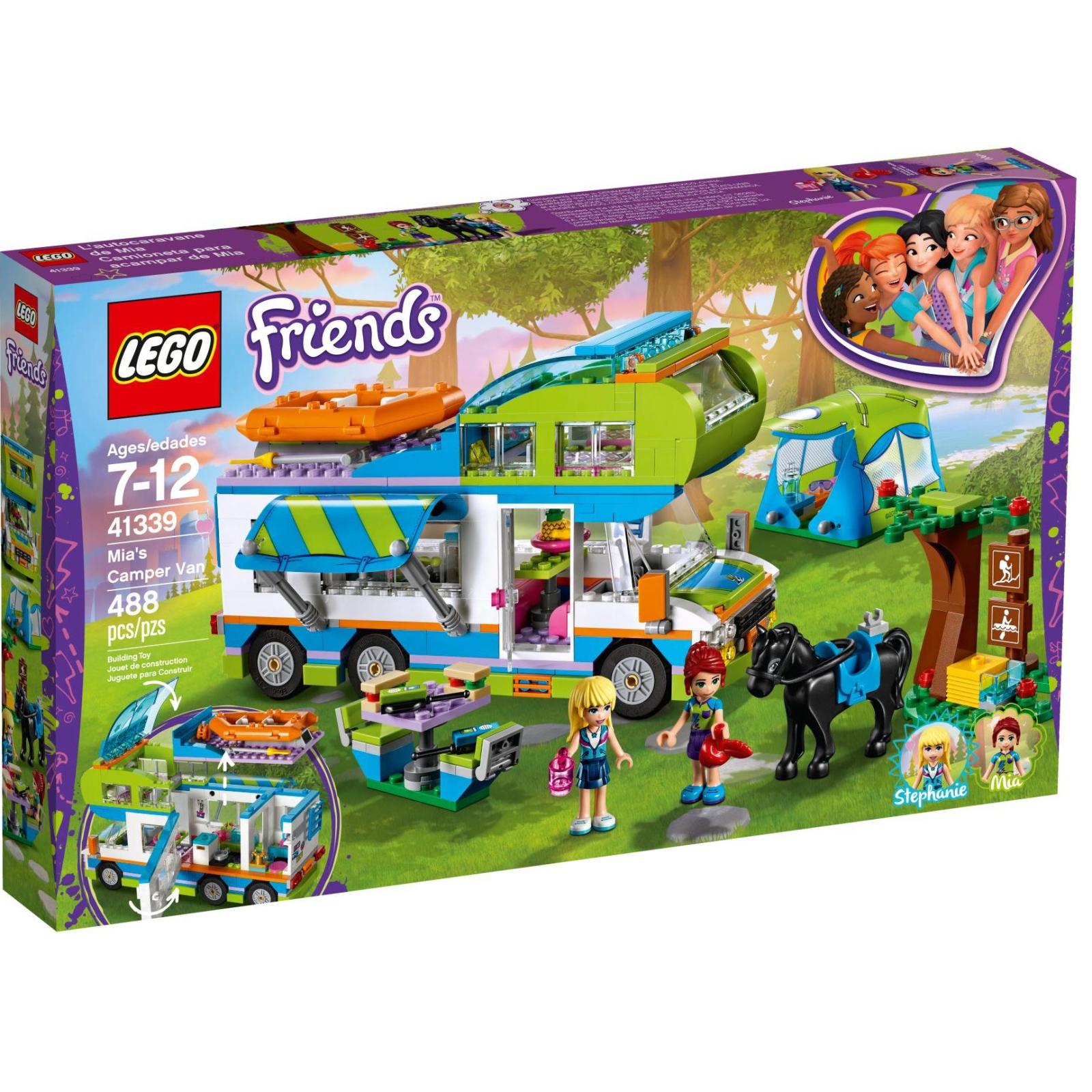 Конструктор LEGO Friends Дом на колесах Мии (41339)