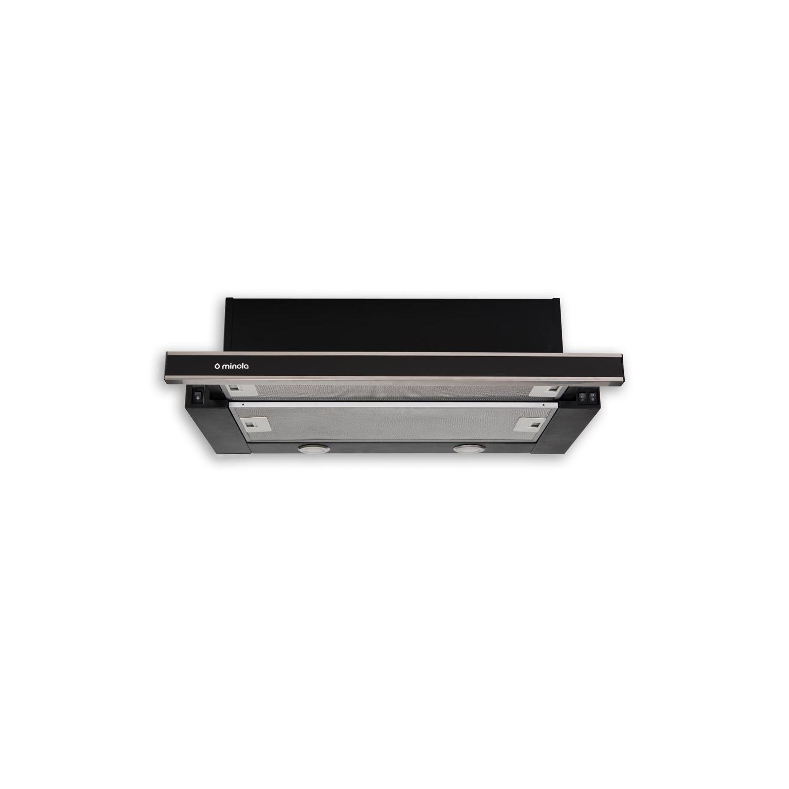 Вытяжка кухонная MINOLA HTL 6062 I/BL GLASS 450 LED изображение 2