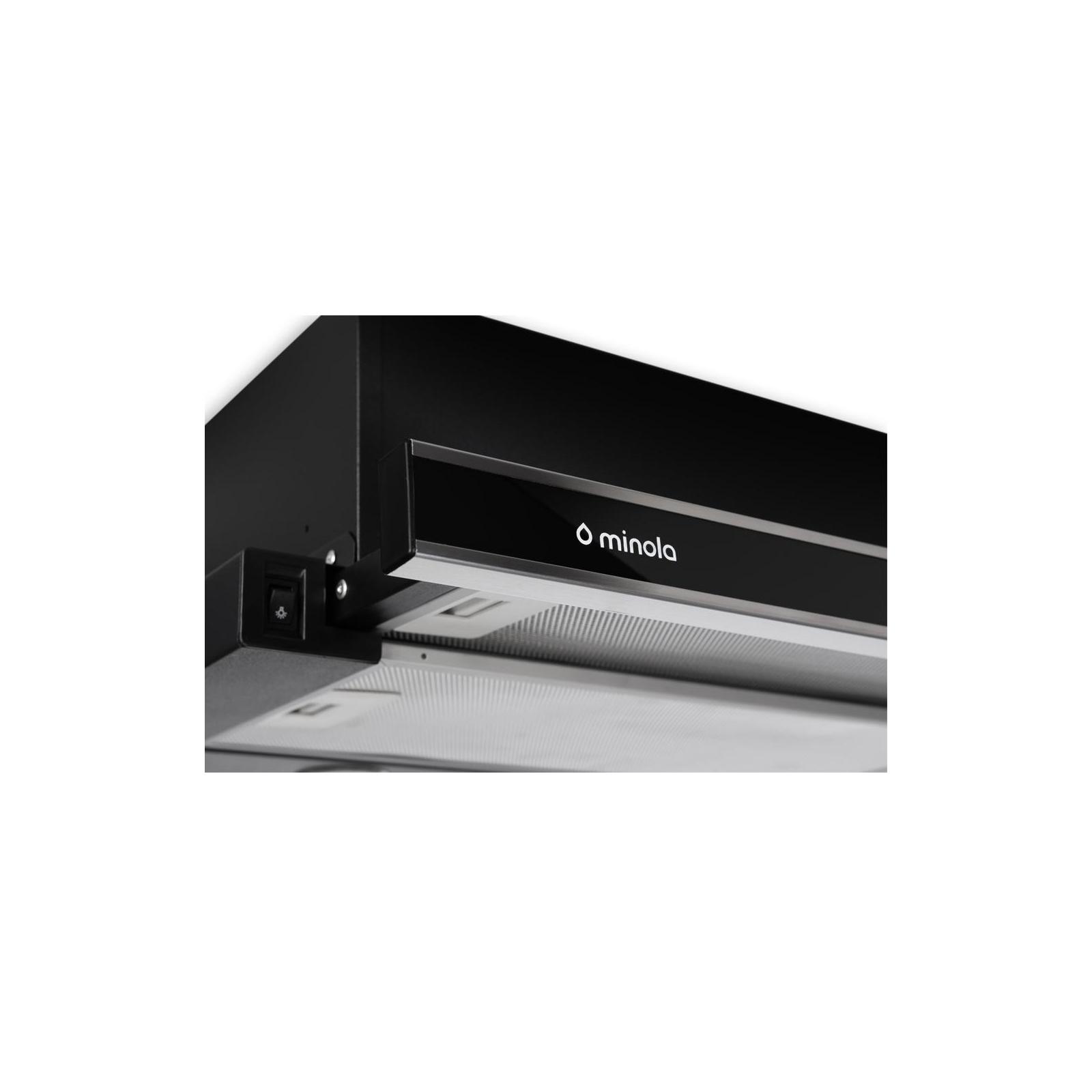 Вытяжка кухонная MINOLA HTL 6062 I/BL GLASS 450 LED изображение 4