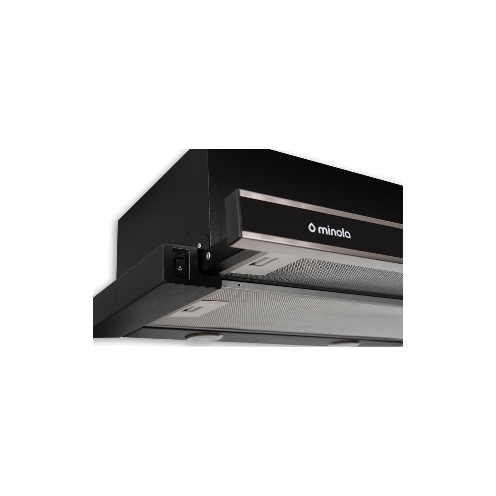 Вытяжка кухонная MINOLA HTL 6062 I/BL GLASS 450 LED изображение 5