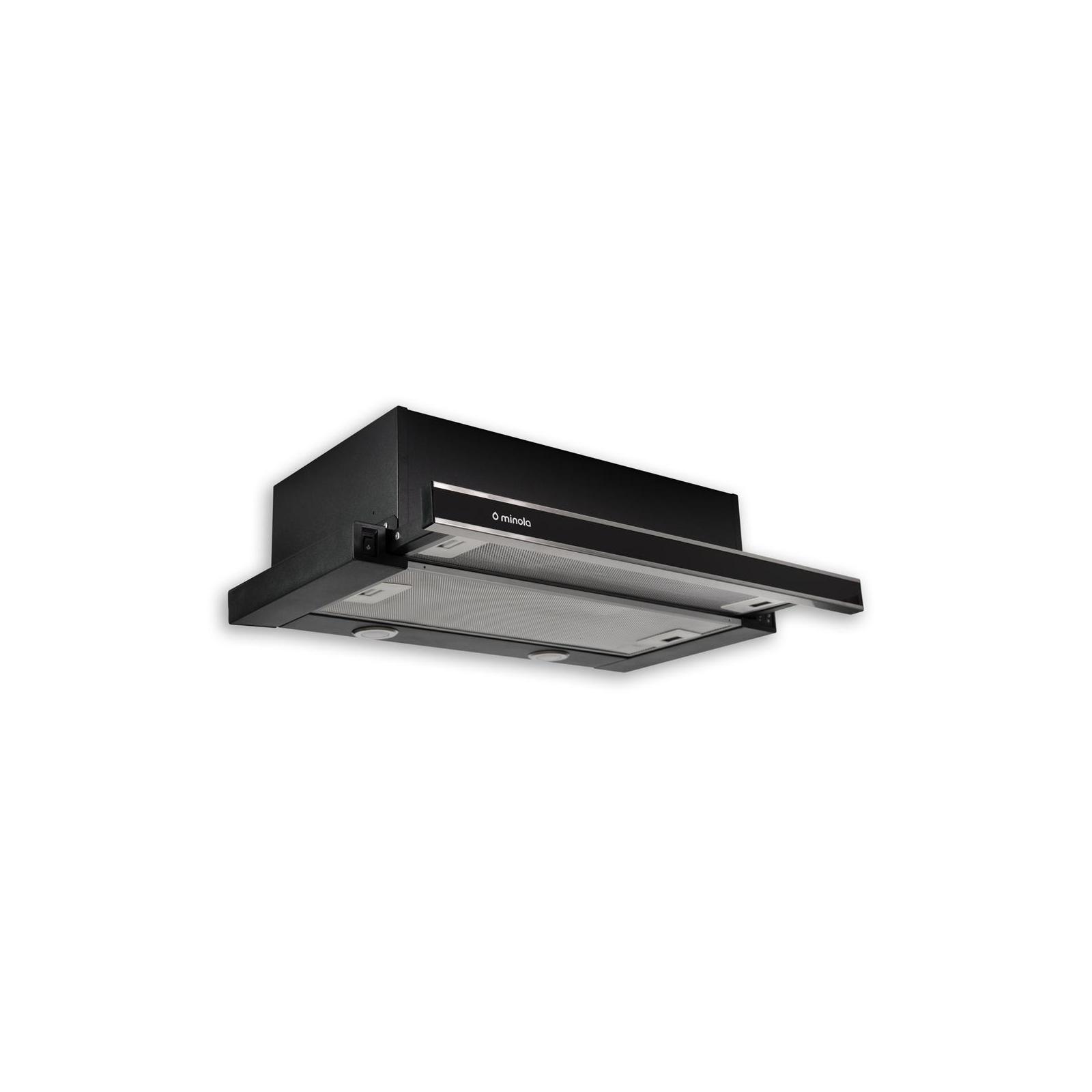 Вытяжка кухонная MINOLA HTL 6062 I/BL GLASS 450 LED